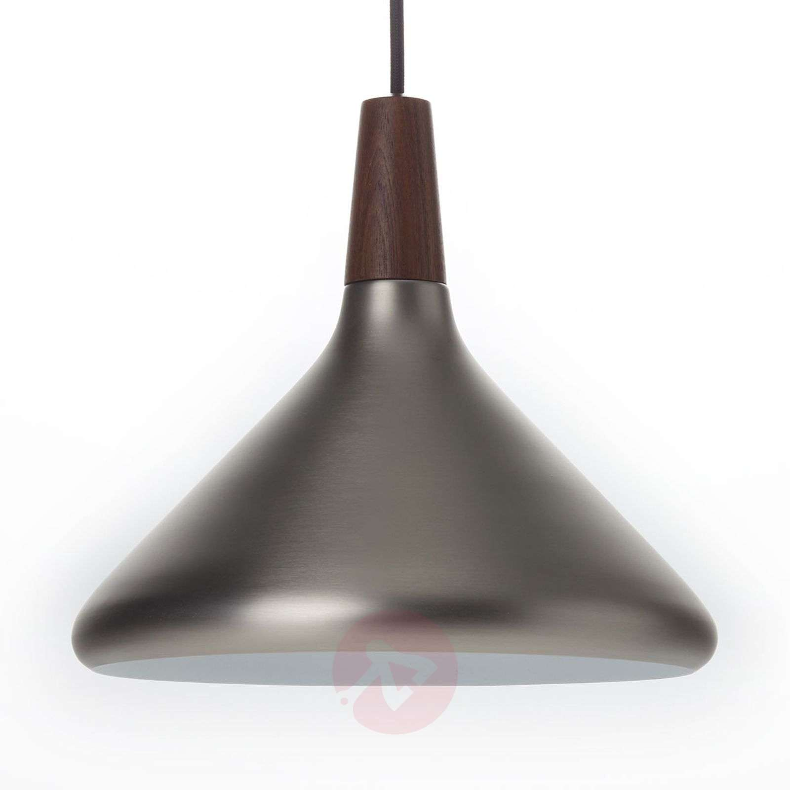 Pendant lamp Float in brushed steel, 27 cm-7005905-03