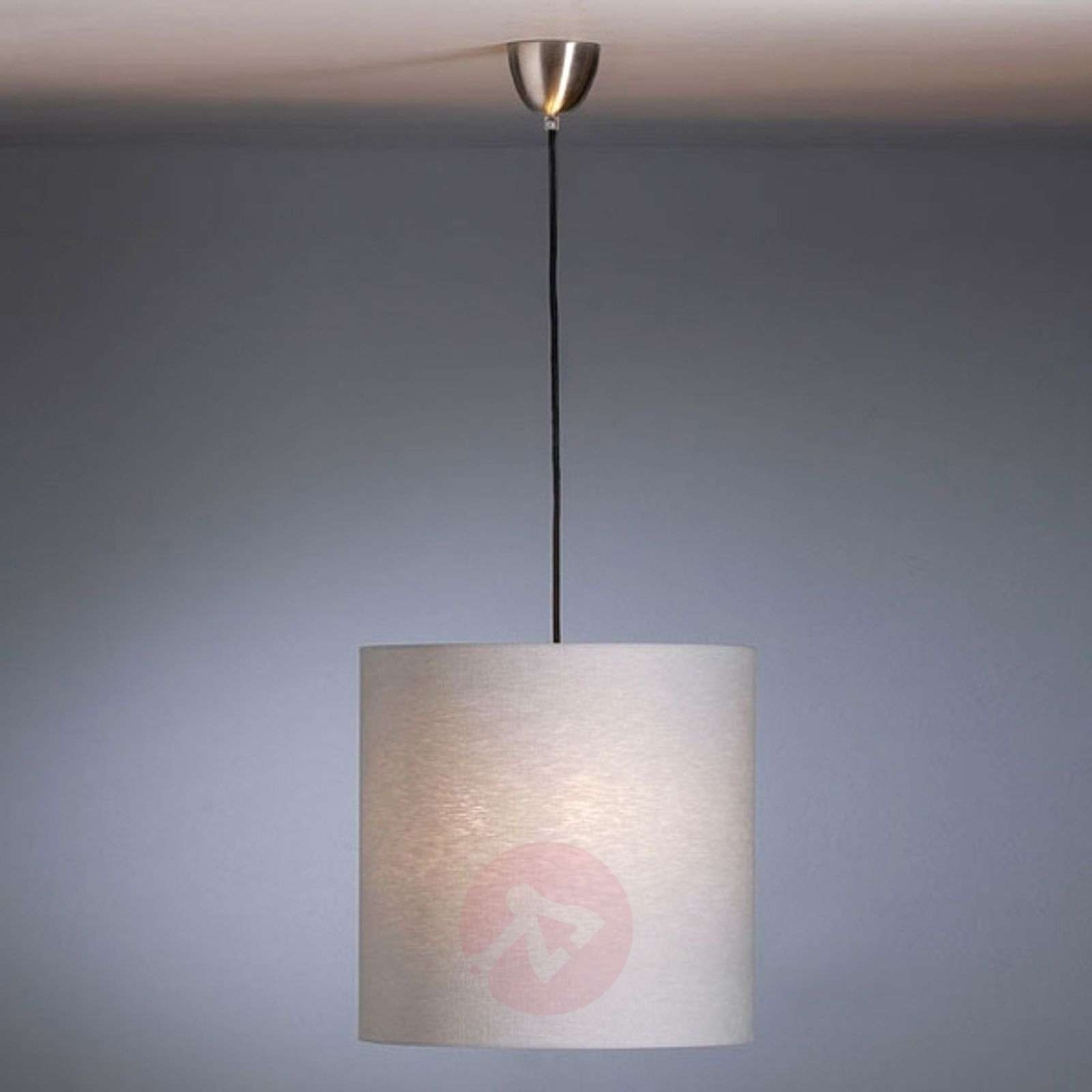 Pendant light by Schnepel, natural, linen-9030170-01