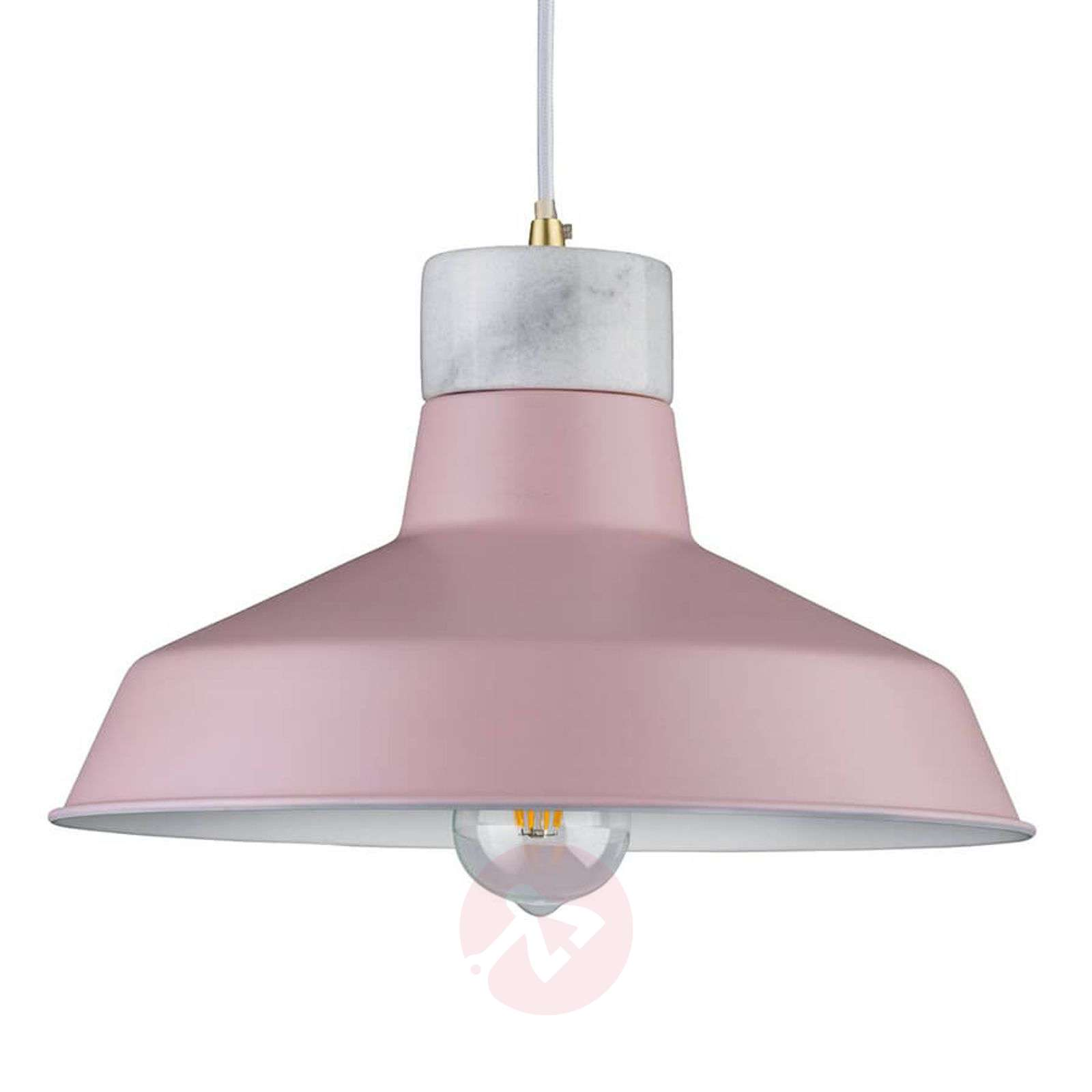 Pendant light Disa in soft rose