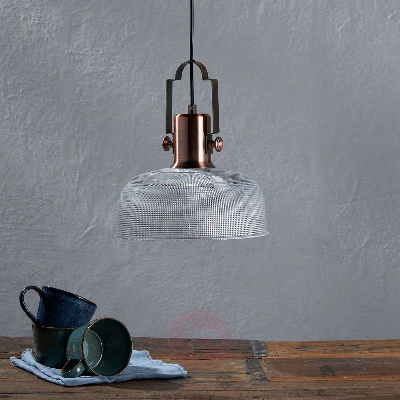 Pendant light Fietje with retro factor-9620881-02