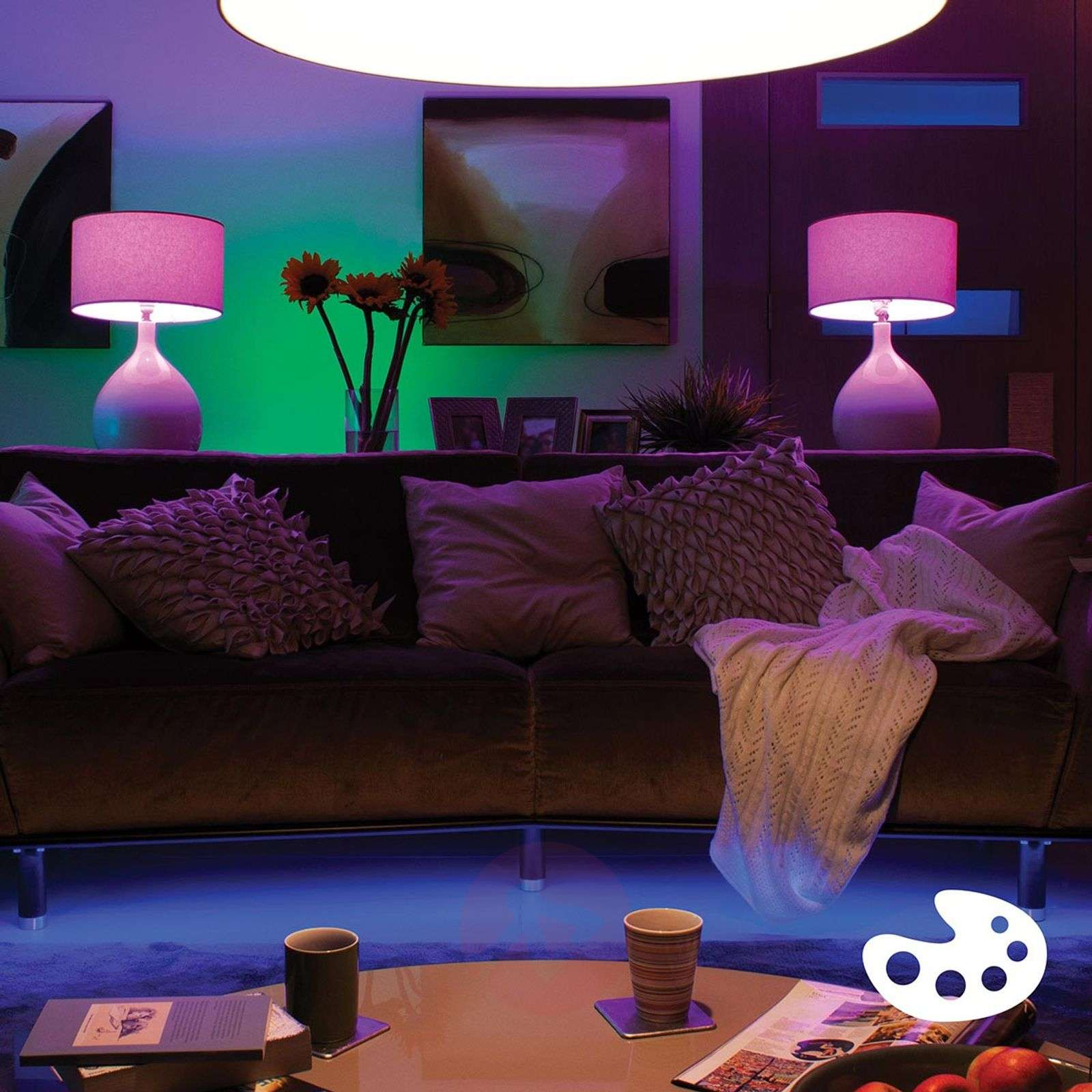 Philips Hue 2 x 10 W E27 White + Colour Ambiance-7532035-01