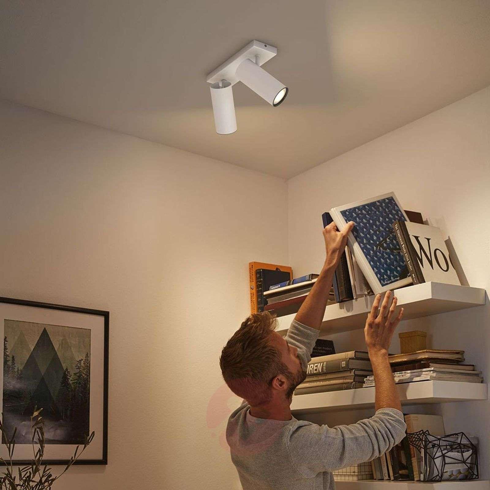 Philips Hue Buratto LED spot white 2-bulb dimmer-7532042-01