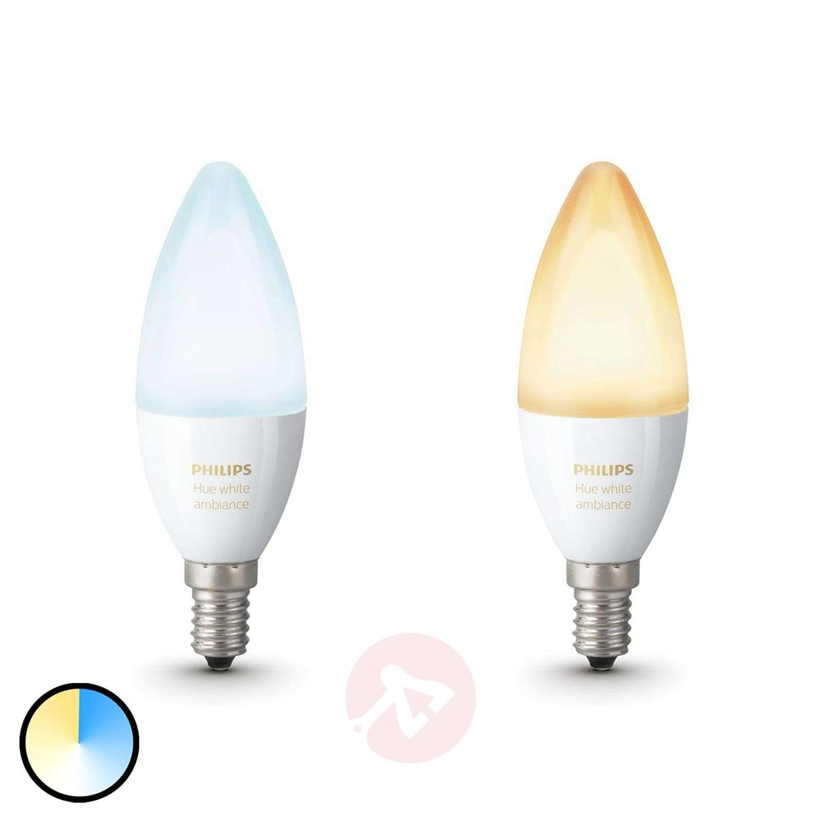 Philips Hue candle bulb White Ambiance 2 x E14-7532034-01