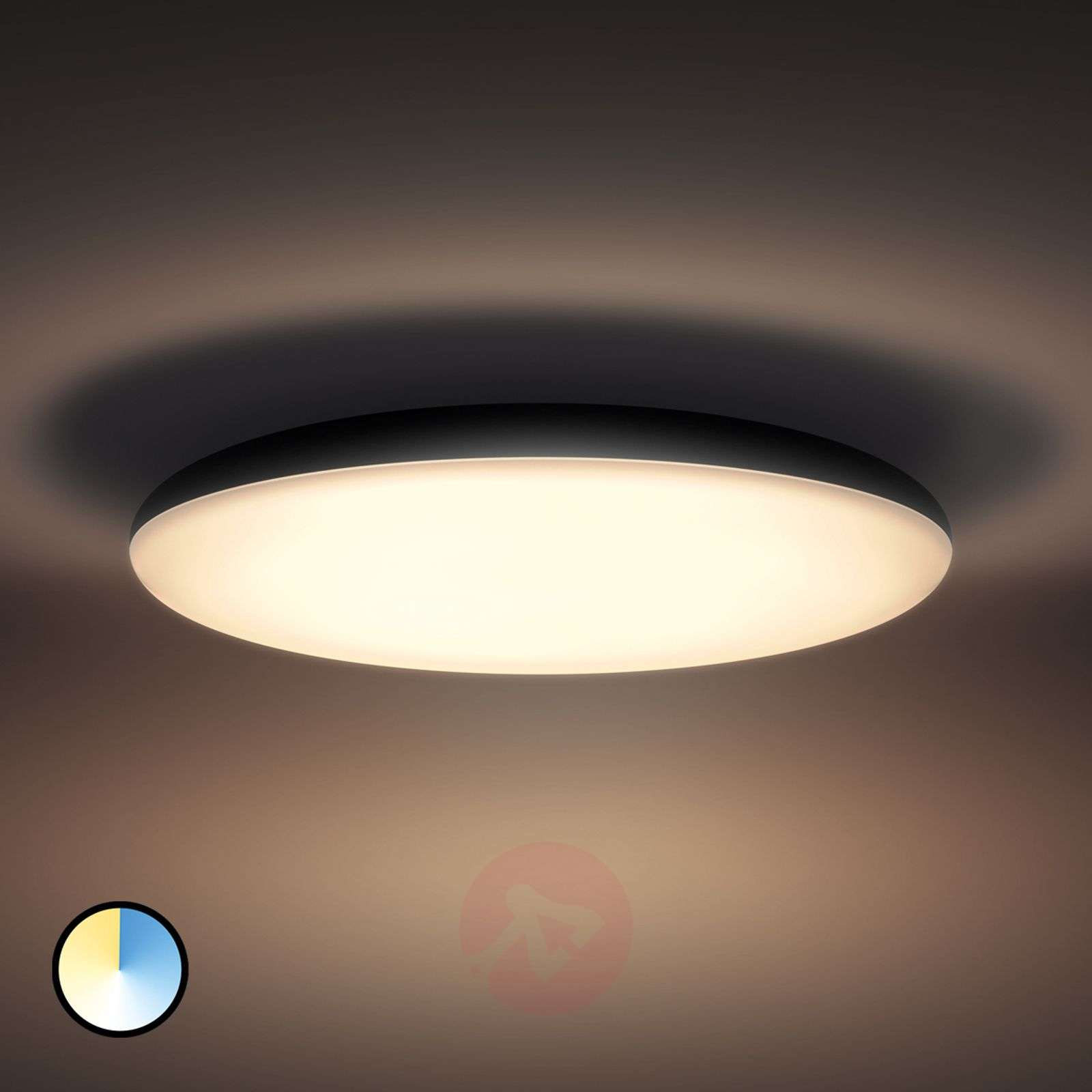 Philips hue led ceiling light cher with dimmer 7532056 01