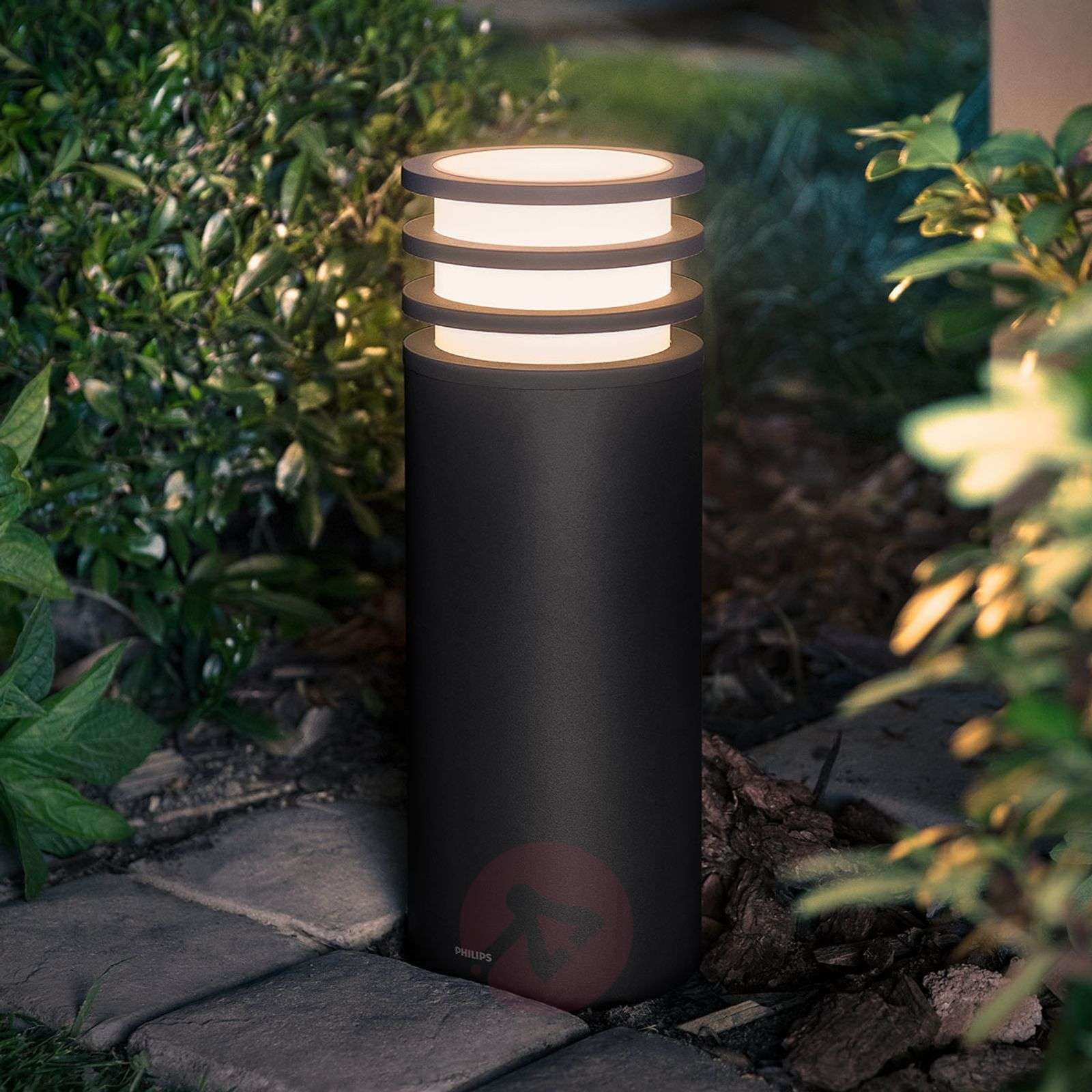 Philips Hue Lucca LED pillar light, app control-7534049-01