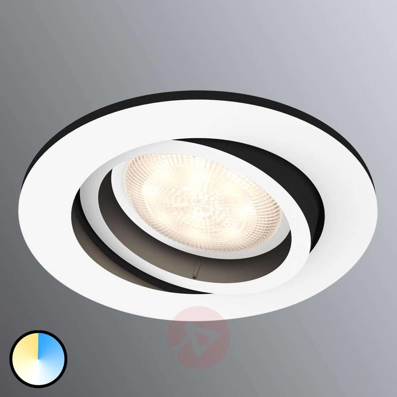 Philips Hue Milliskin Led Spot Round White