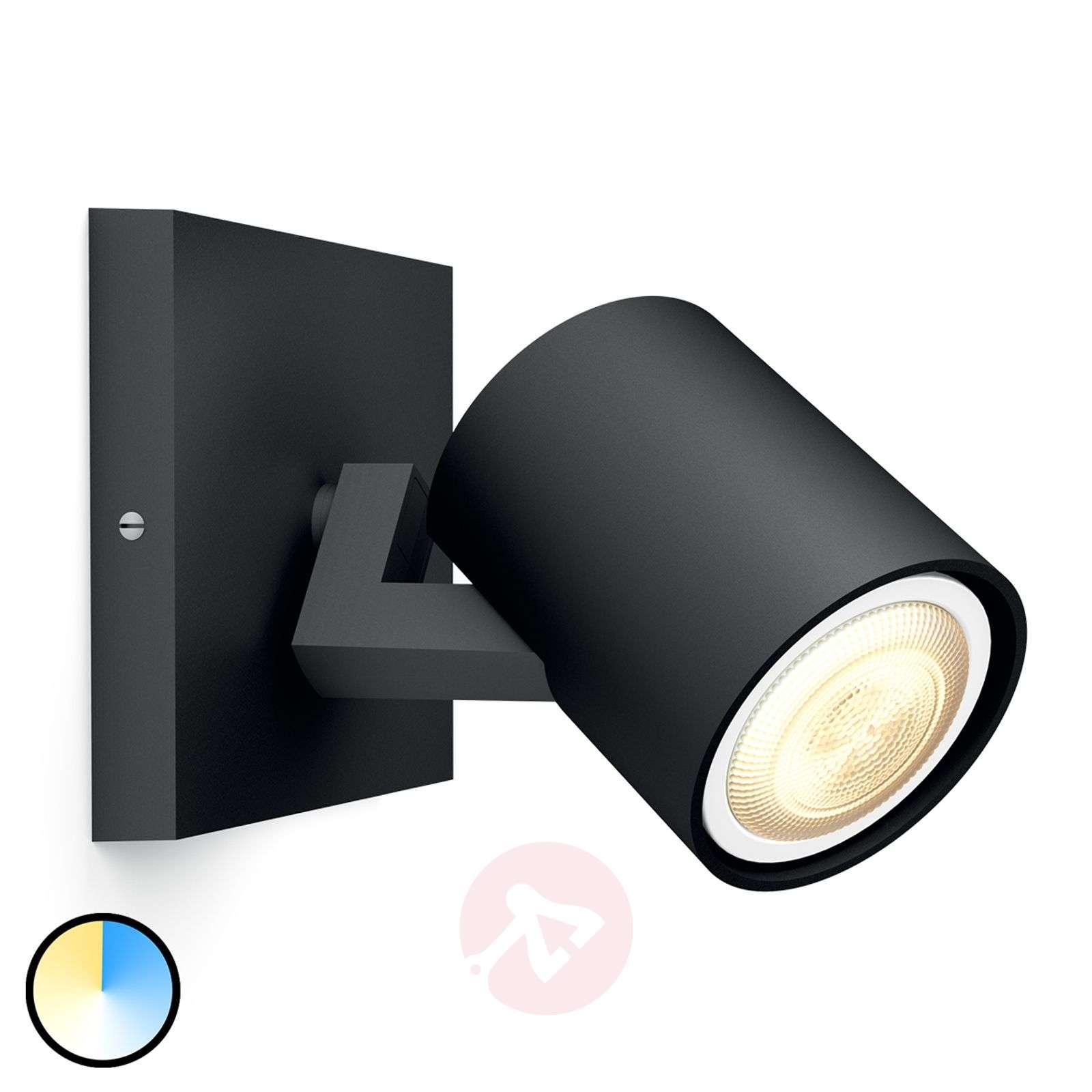 Philips Hue Runner spotlight 1-bulb dimmer black-7531886-01