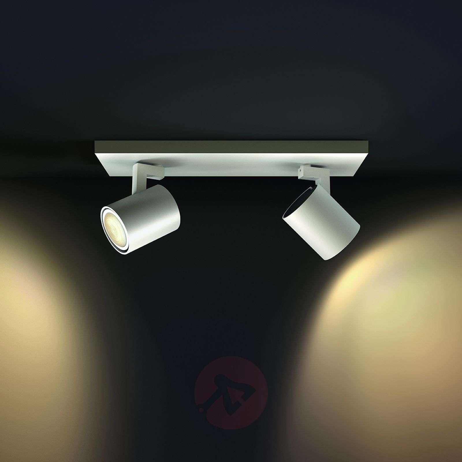 Philips Hue Runner spotlight 2-bulb dimmer white-7531891-01