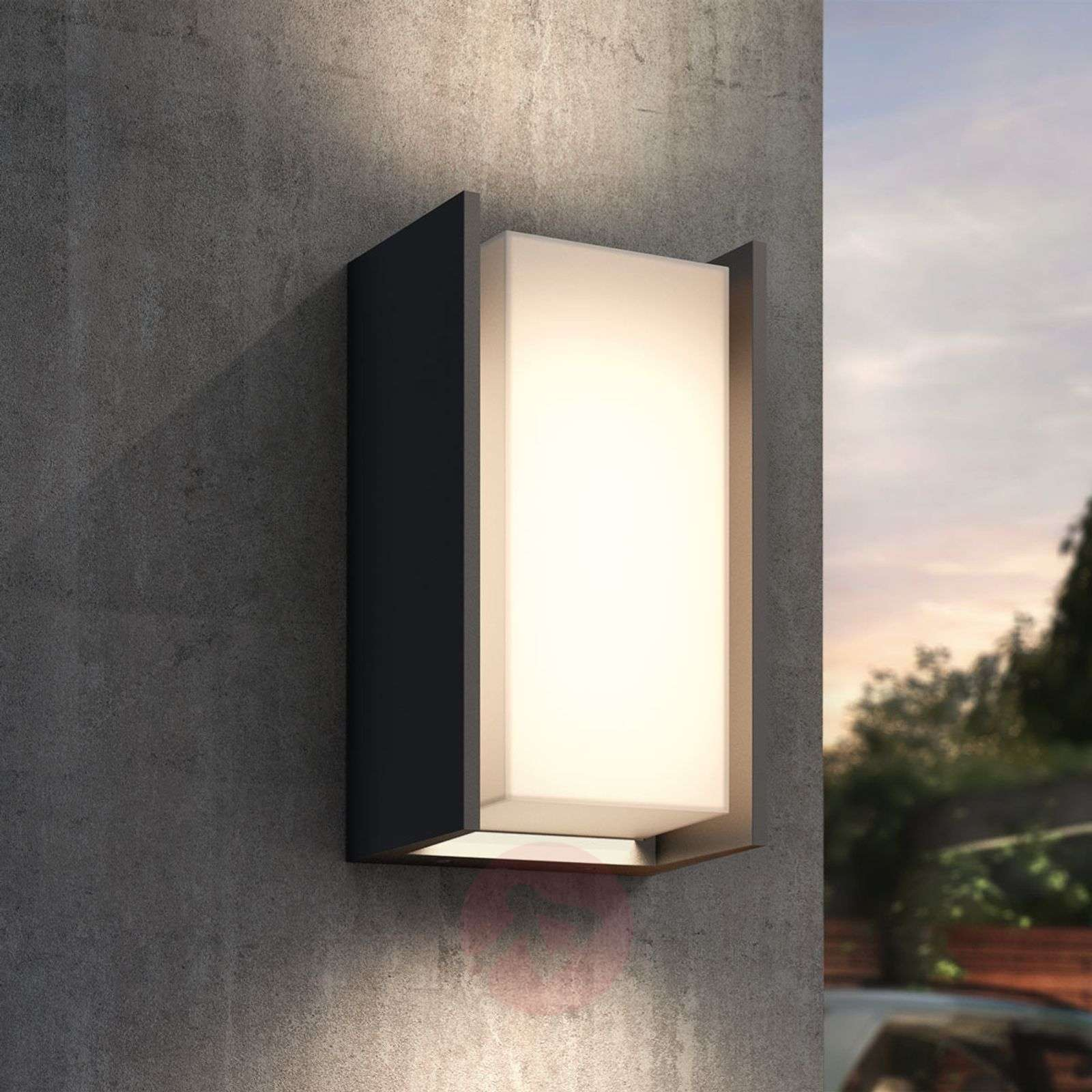 Philips Hue Turaco Led Outdoor Wall Light Lights Ie