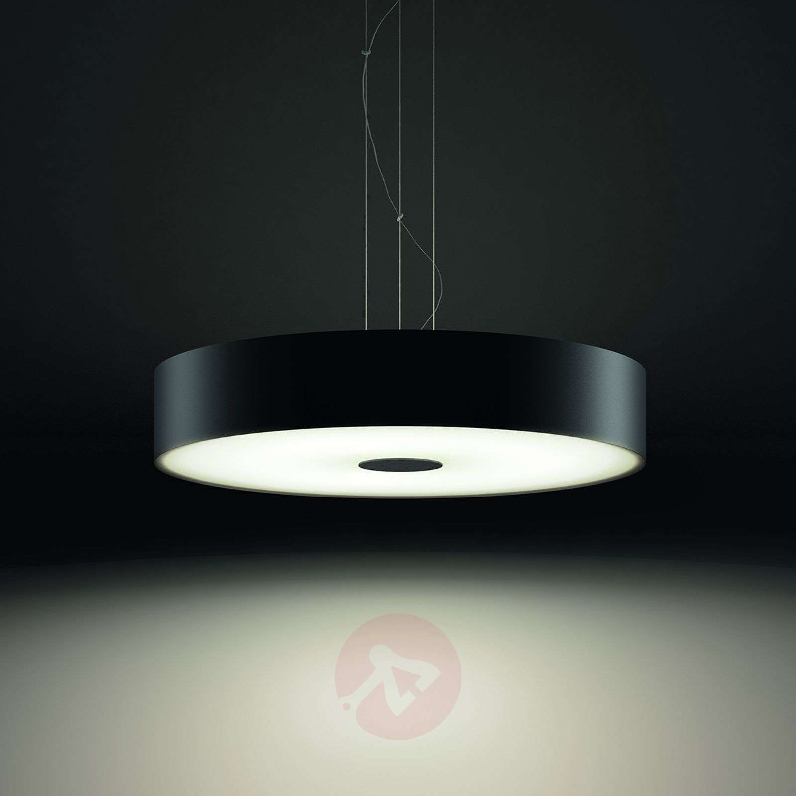 Philips Hue White Ambiance Fair pendant, black-7531874-01