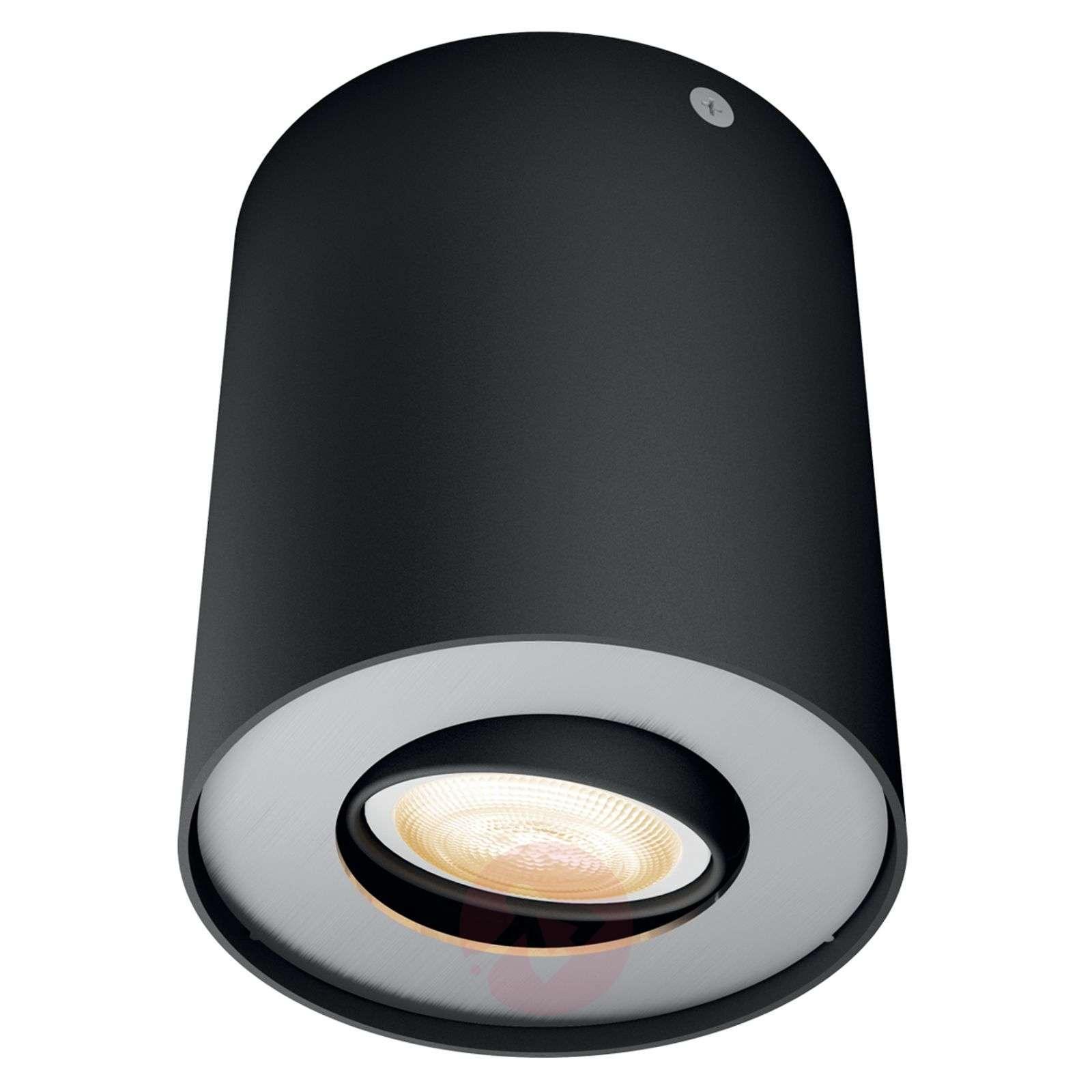 Philips Hue White Ambiance Pillar spot black-7531878-01