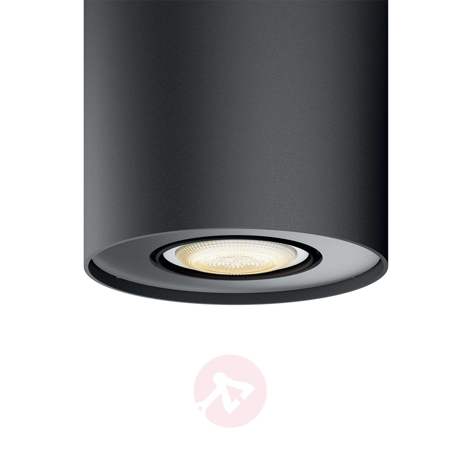 Philips Hue White Ambiance Pillar spot black-7531878-01