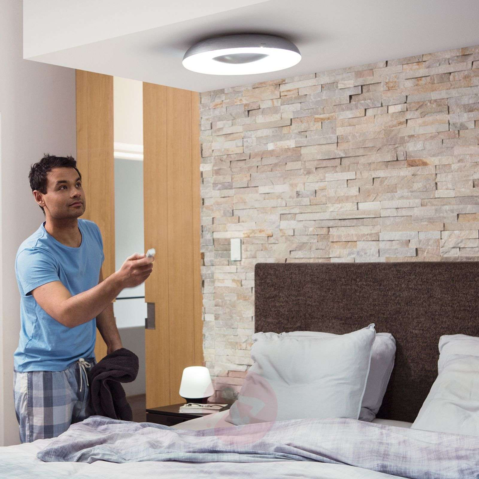 Philips Hue White Ambiance Still Ceiling Lamp Alu Lights Ie