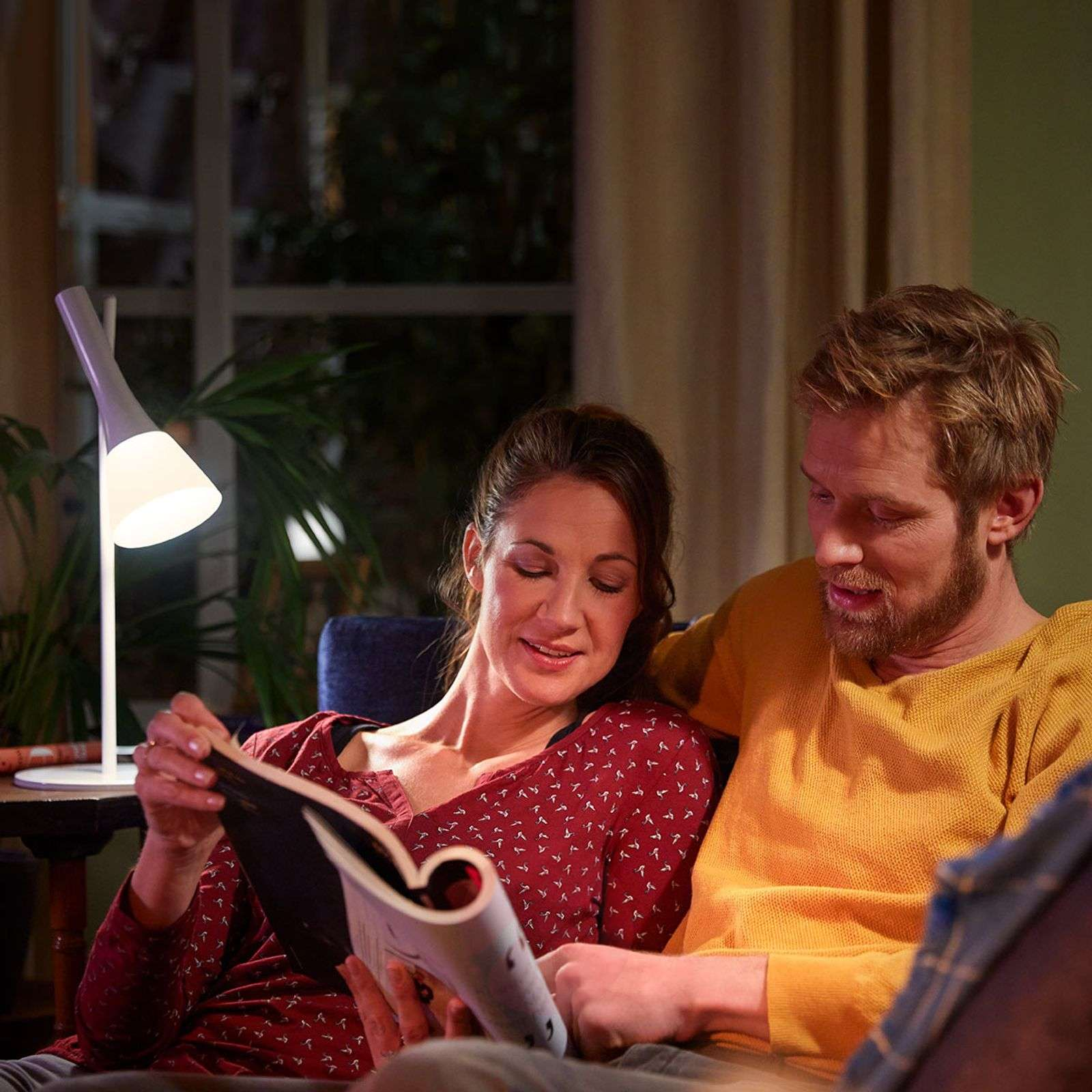 Image result for philips hue explore table lamp