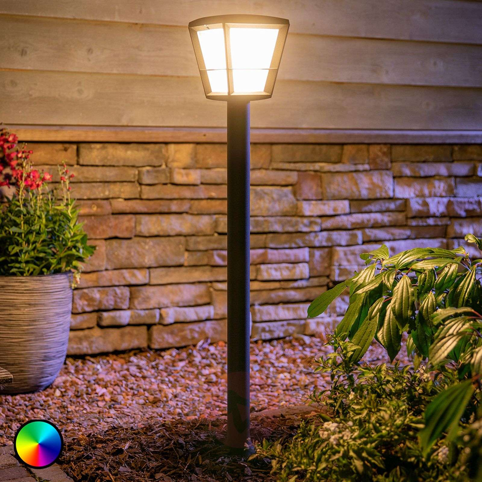 Philips Hue White+Color Econic LED path light-7534120-02
