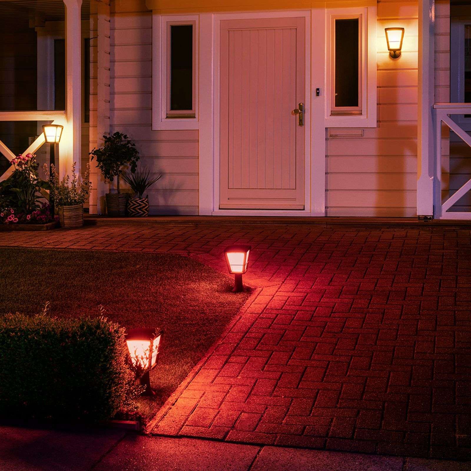 Philips Hue White+Color Econic LED pillar light-7534119-02