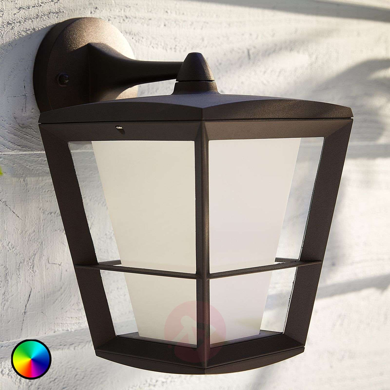 Philips Hue White+Color Econic wall light, under-7534118-02