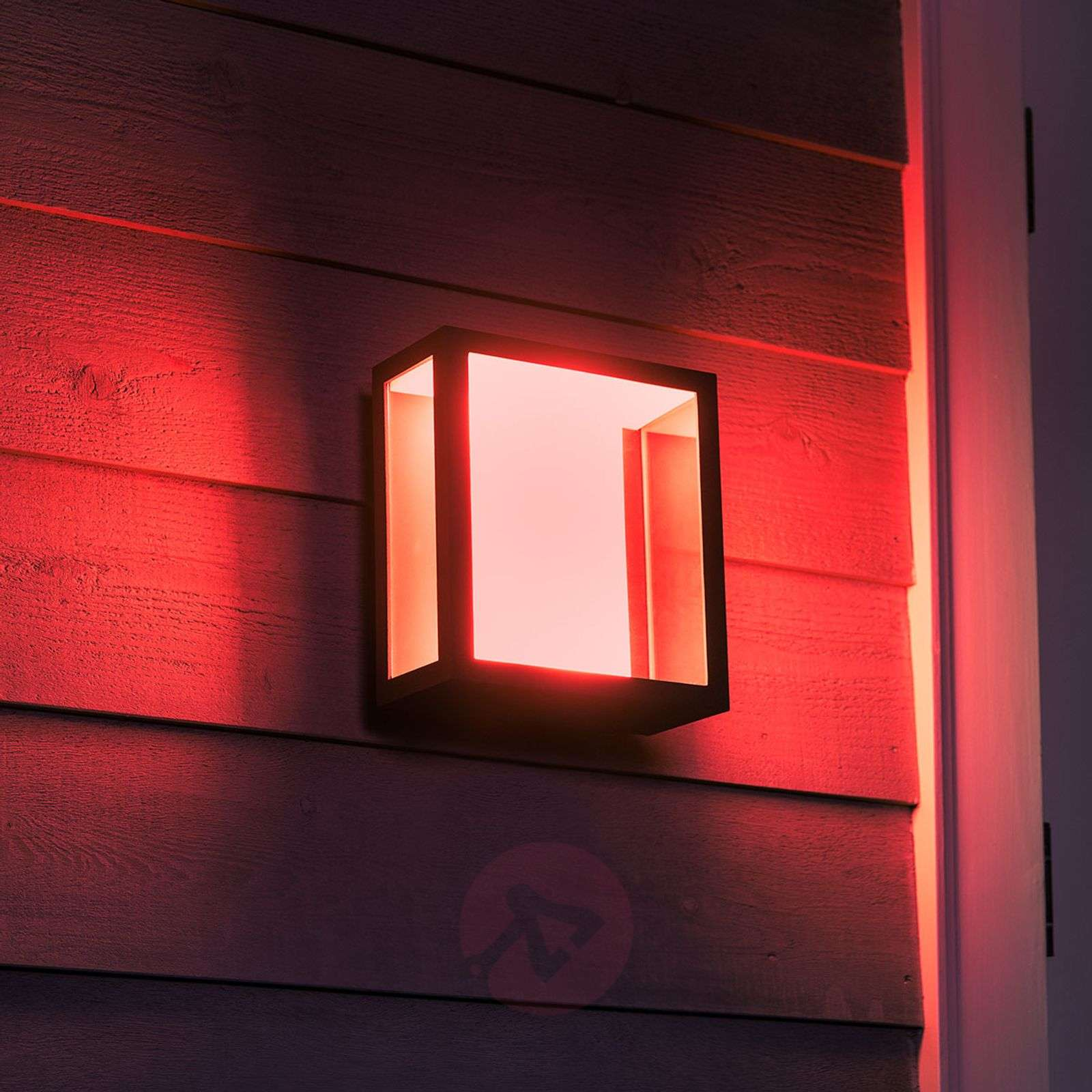 Philips Hue White+Color Impress wall light, wide-7534109-03
