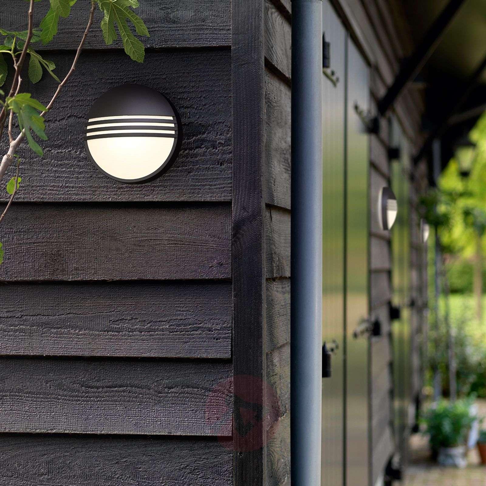 Philips Yarrow black LED outdoor wall light-7531792-02