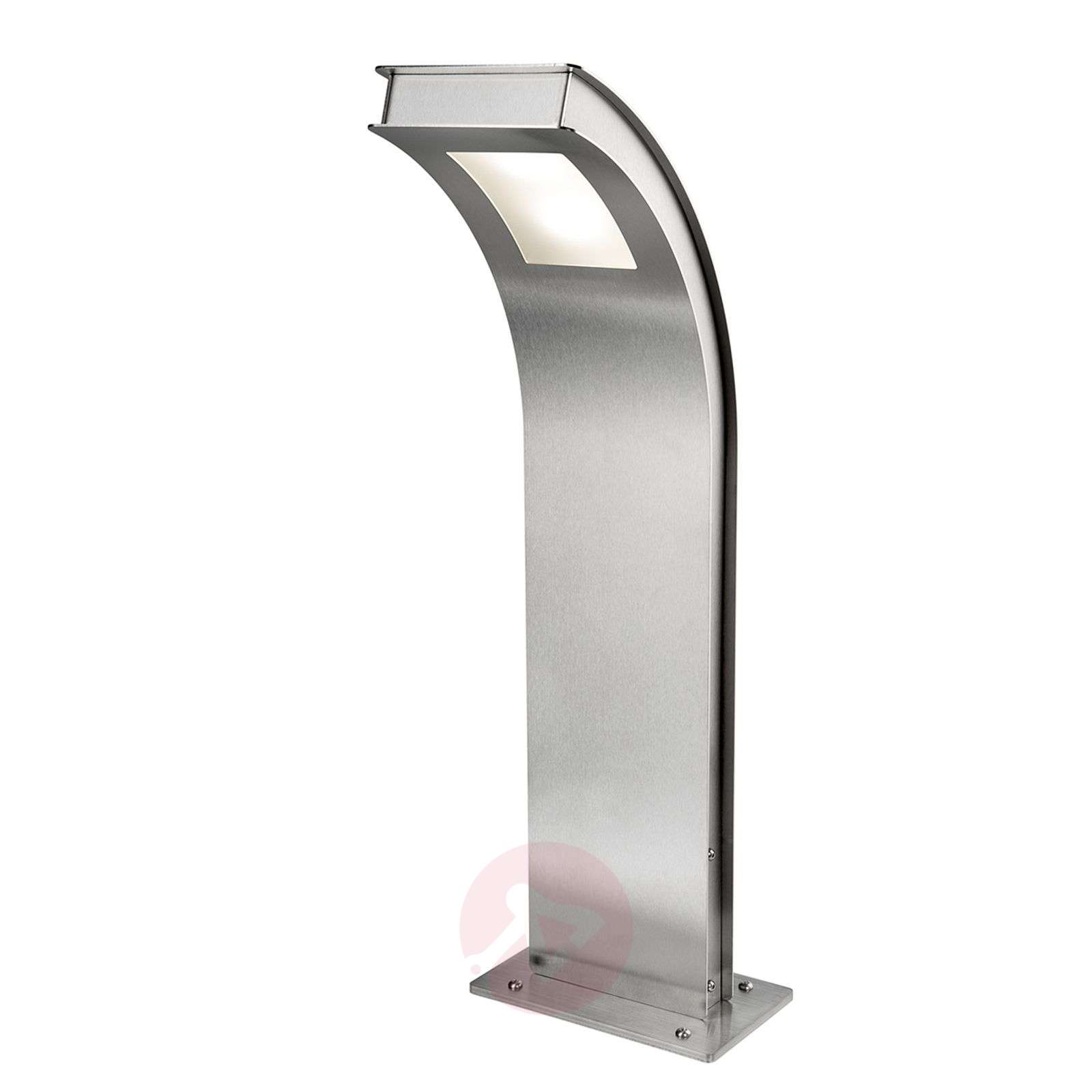 Pillar light Citos-Stand, stainless steel with LED-4502370-01