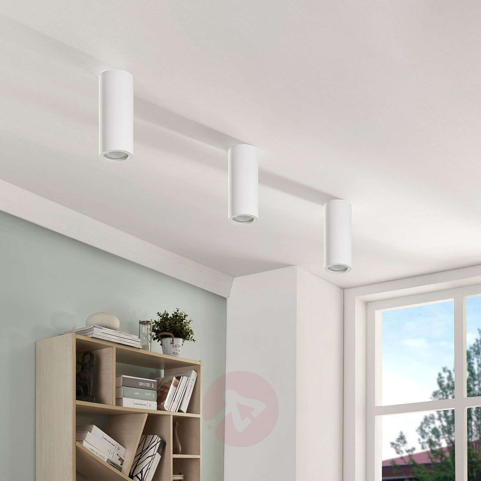 Plaster downlight Annelies with Easydim LED bulb-9621359-01