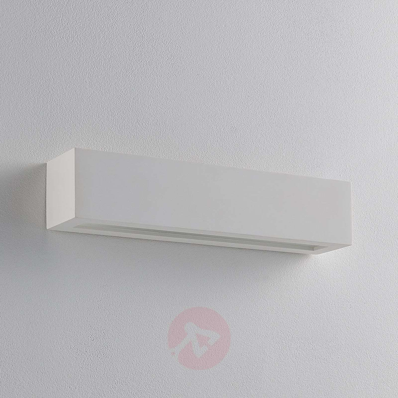 Plaster wall light Tjada with G9 LED bulbs-9621337-02