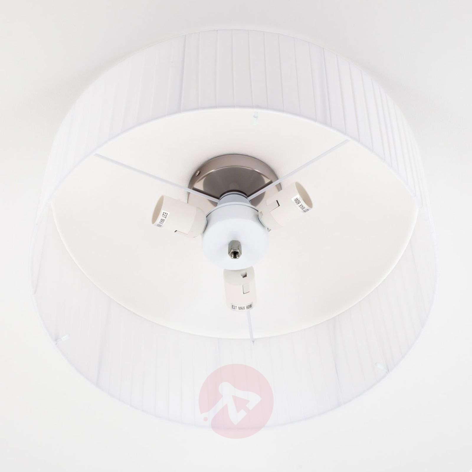 Plissé ceiling light Melda with acrylic diffuser-9620044-02