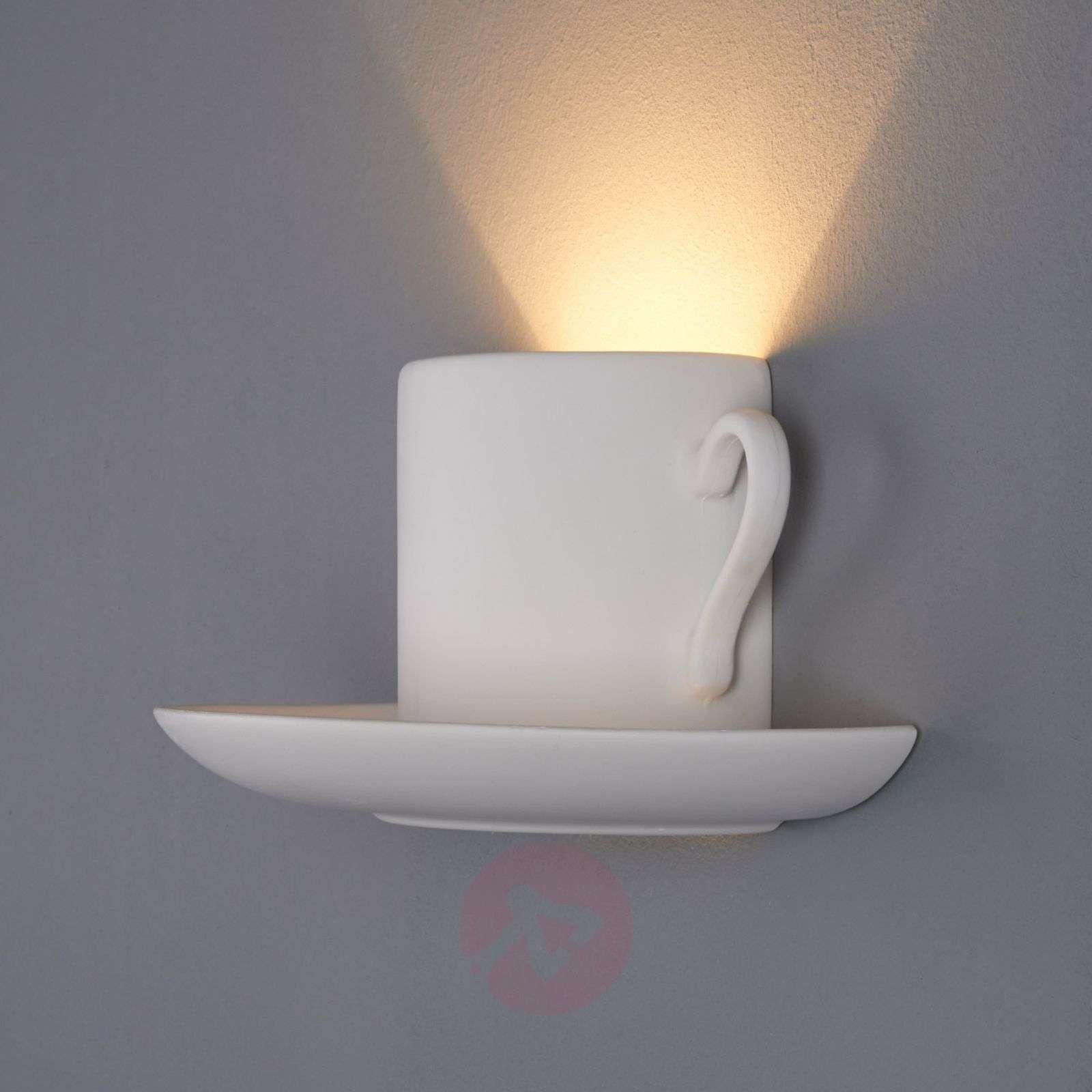 Pocillo Wall Light Paintable Plaster-9613021-01