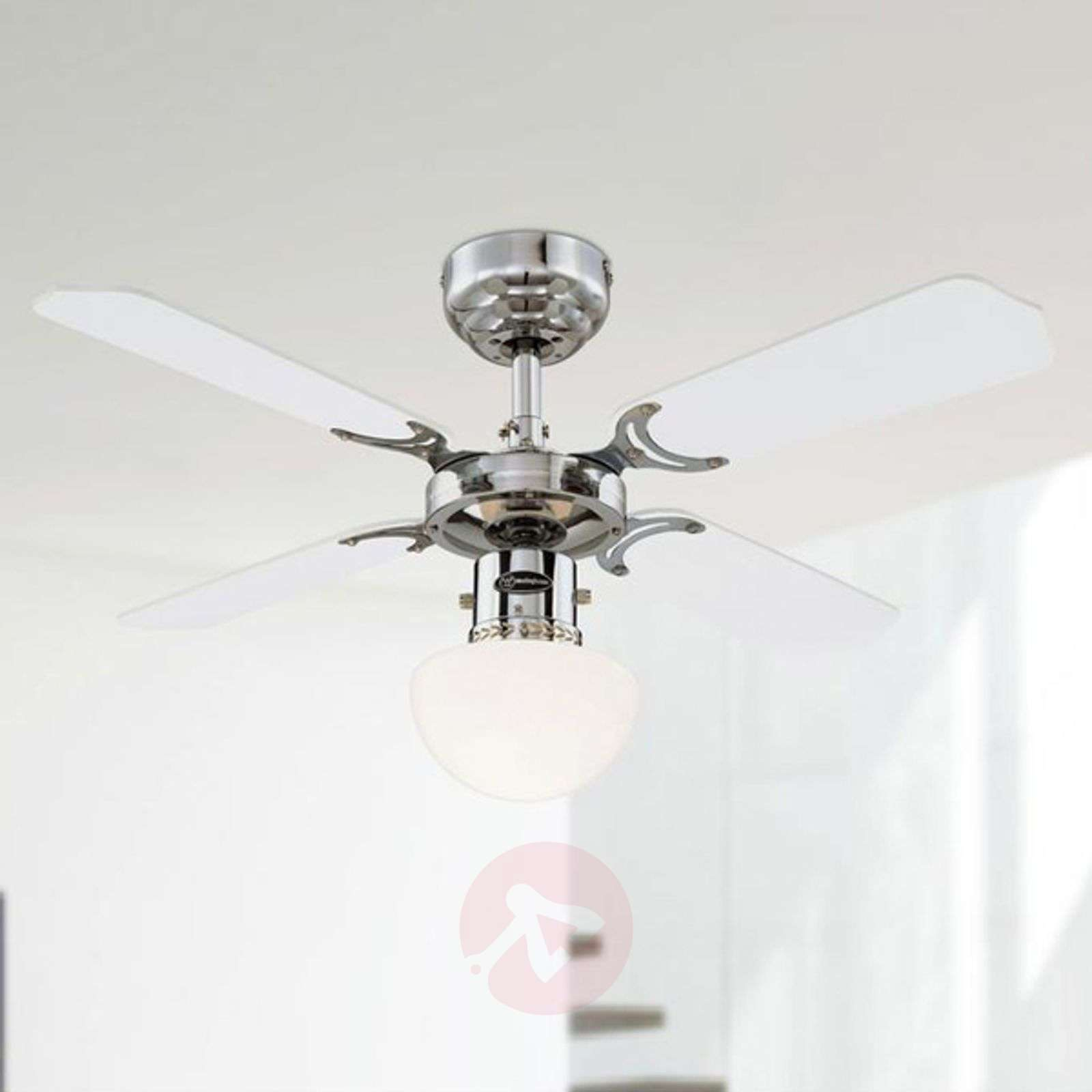 Portland Ambiance Ceiling Fan With Light Lights Ie