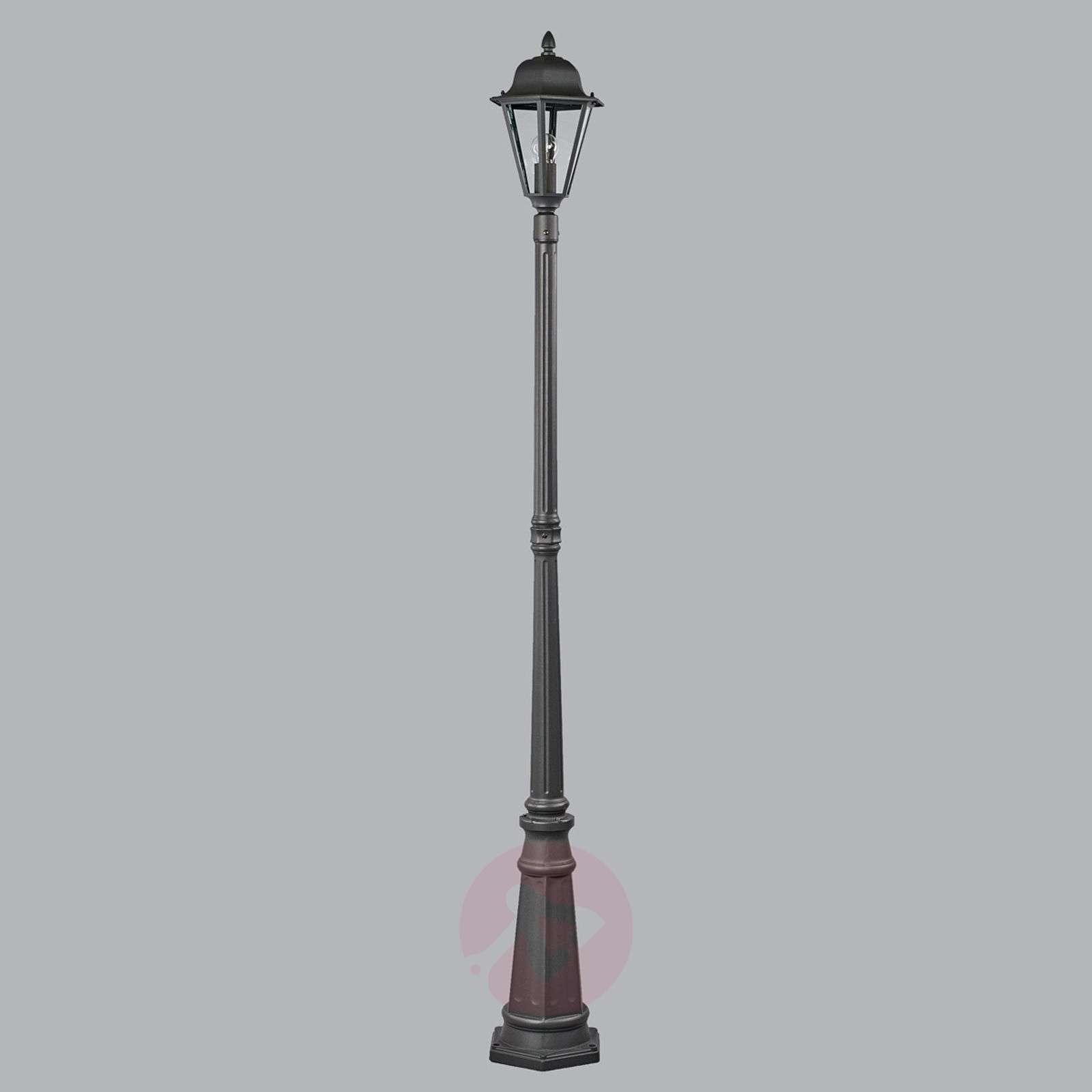 Post light Edana in graphite grey-9630065-01