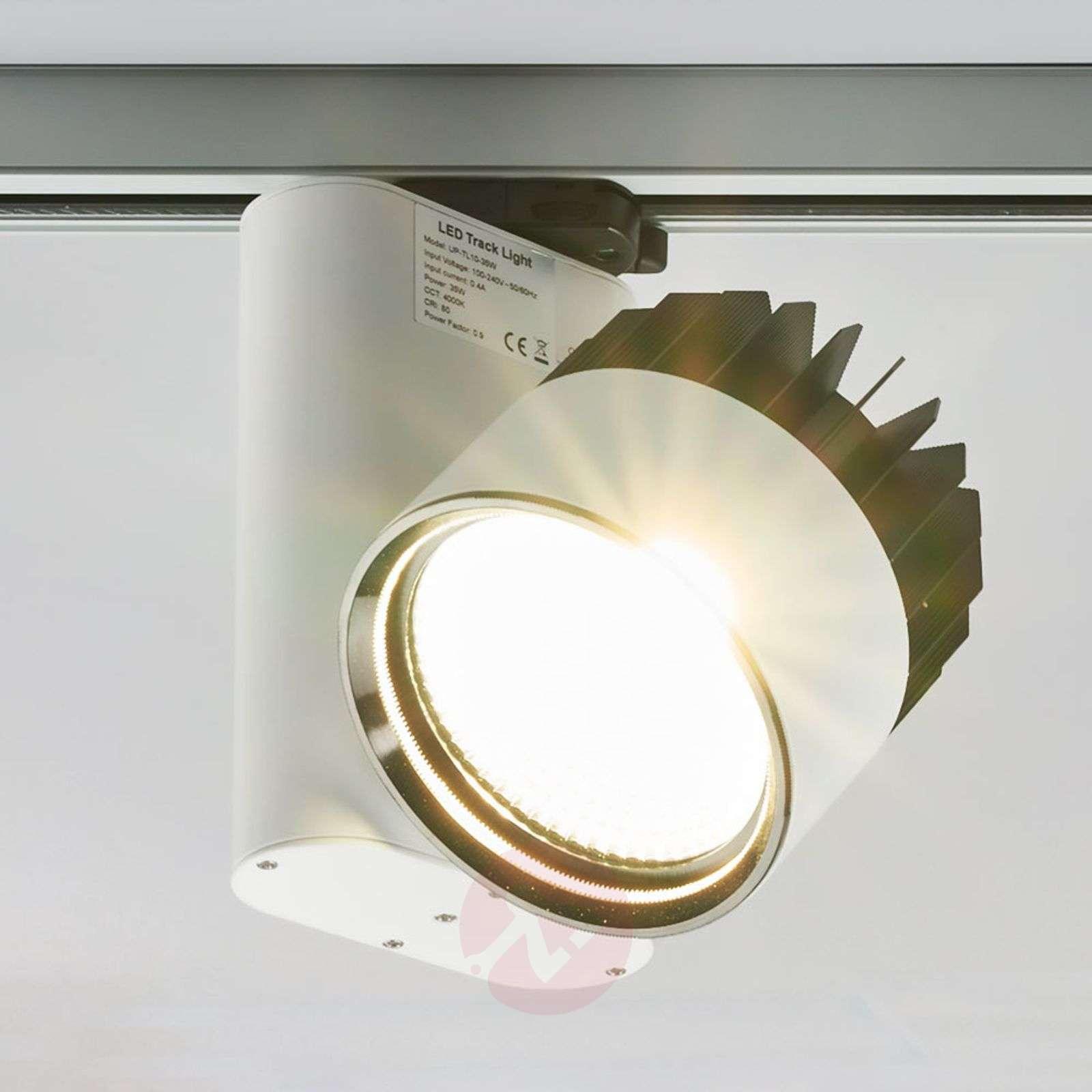 Powerful Benett LED spotlight for track systems-9967019-01
