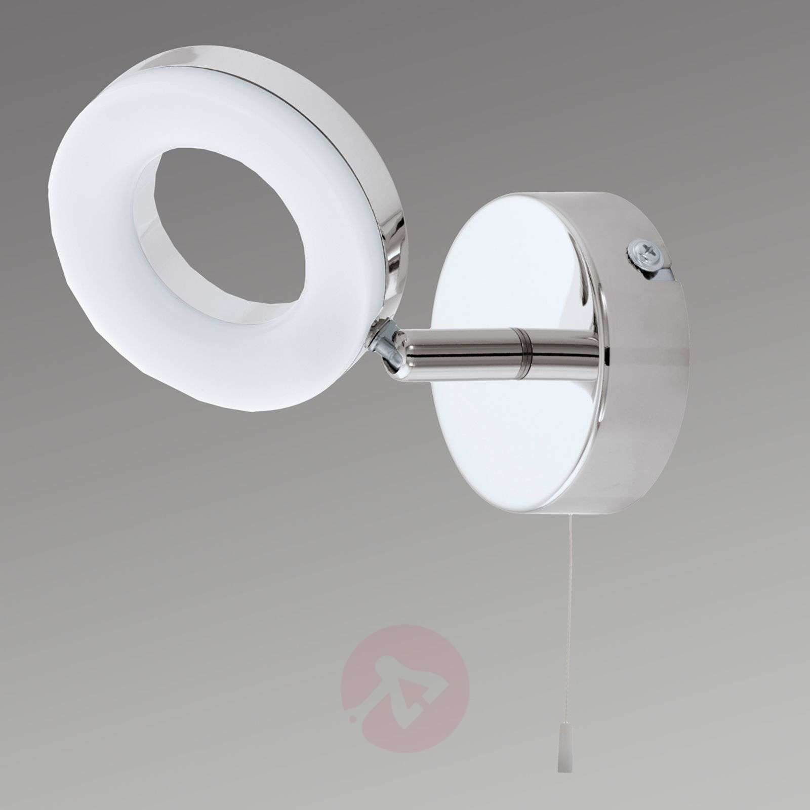 Practical Gonaro LED wall lamp, pull cord-3031851-01