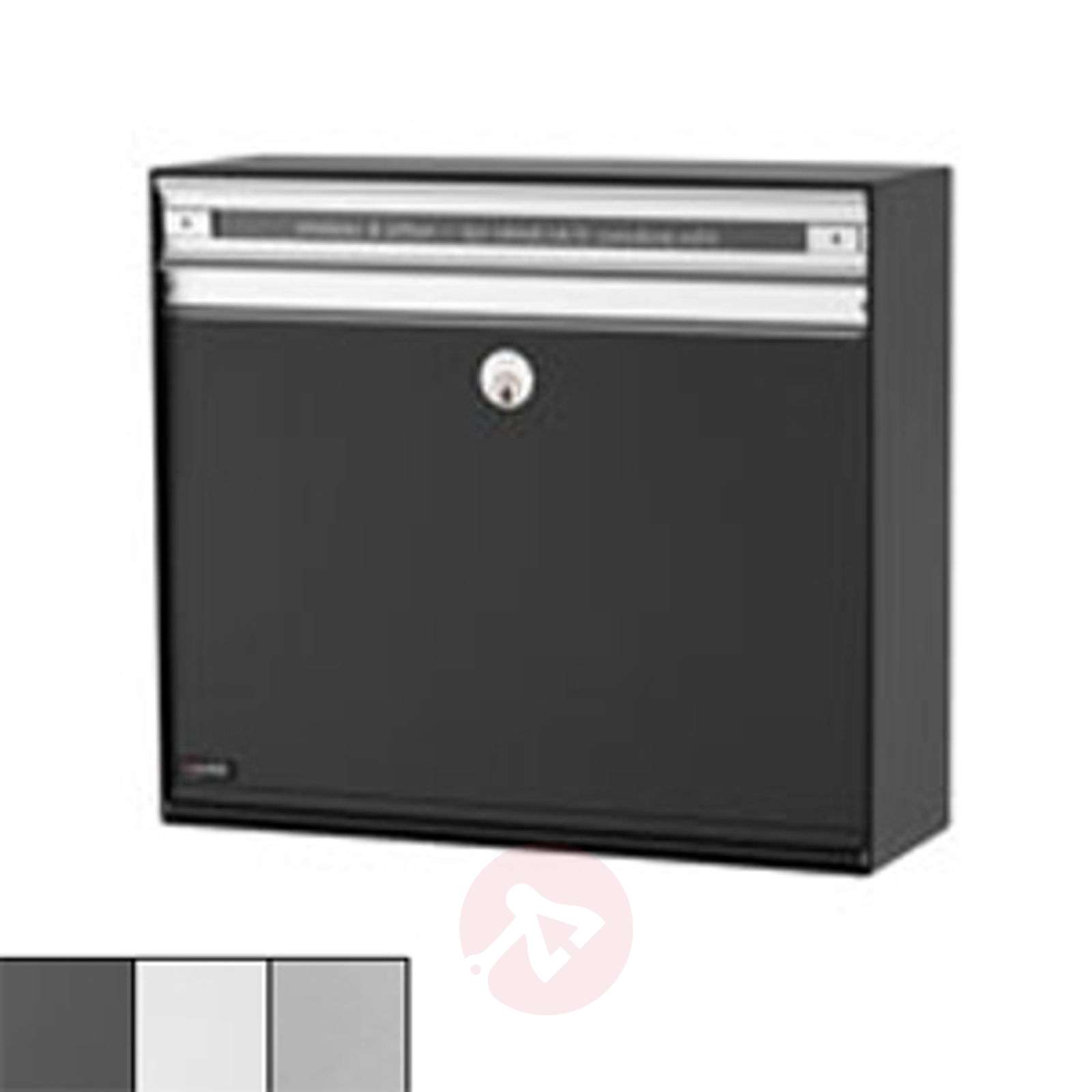 Practical letterbox SC135, aluminium slot-1045048X-01