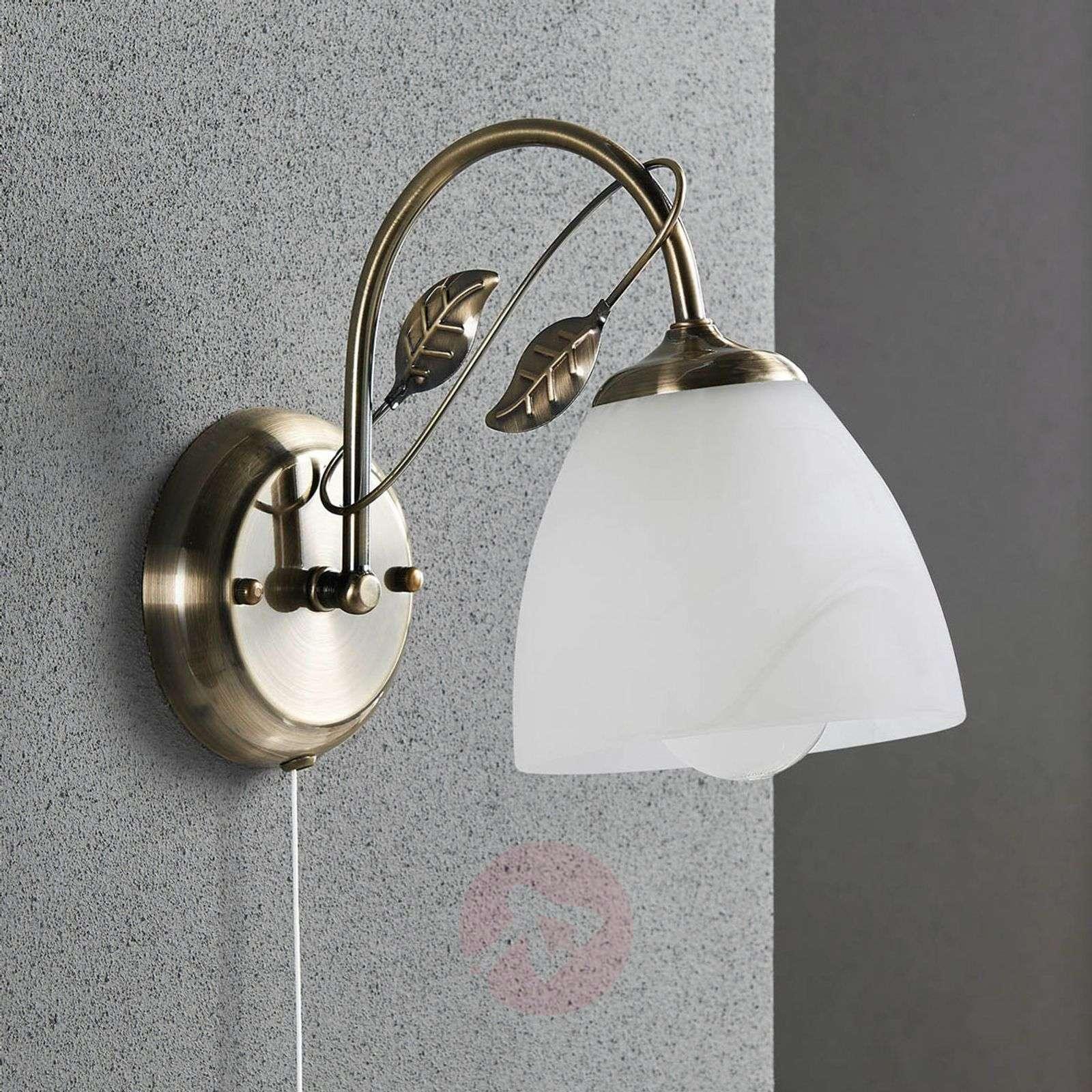Pretty wall lamp Michalina, classic style-9620775-03