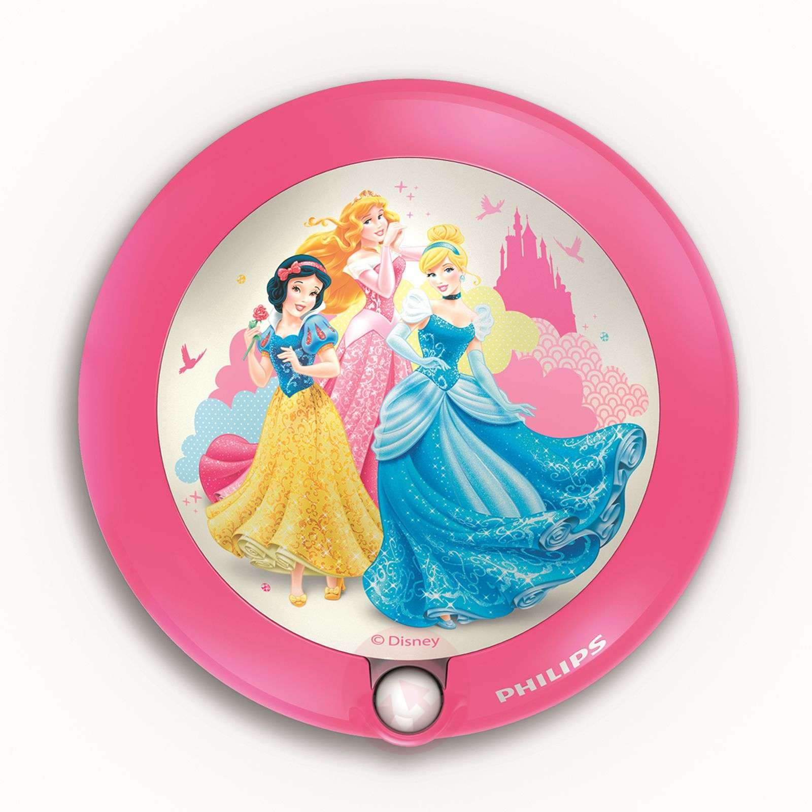 Princess LED Night Light with a Motion Detector-7531541-01