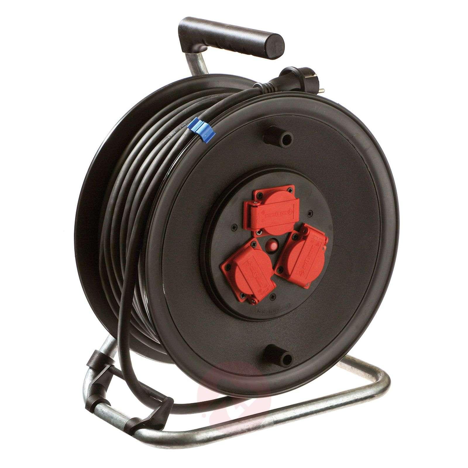 Professional cable drum BGI 608 for building sites-4535119X-01