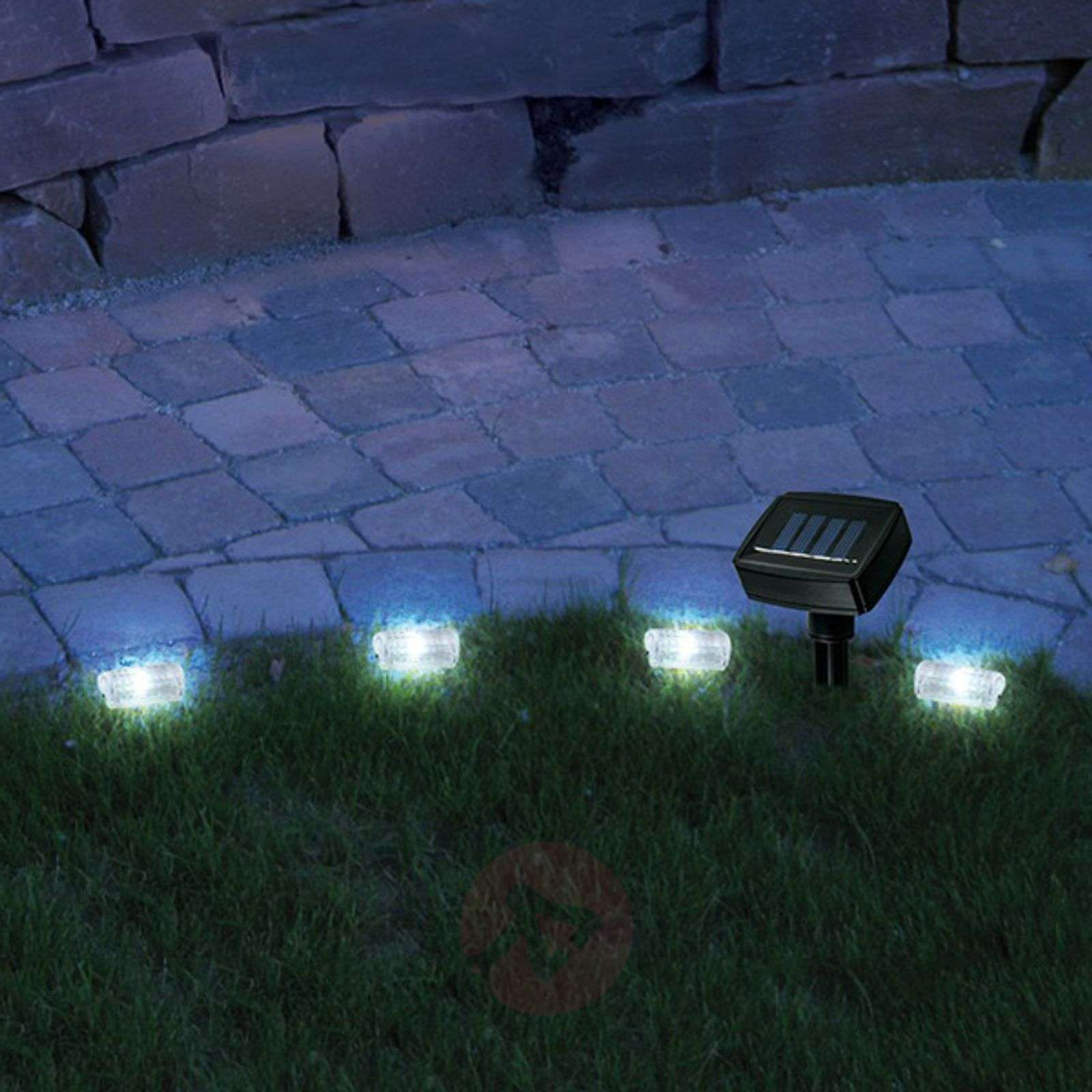 Promenade solar lawn edge string lights with LED-9506042-01