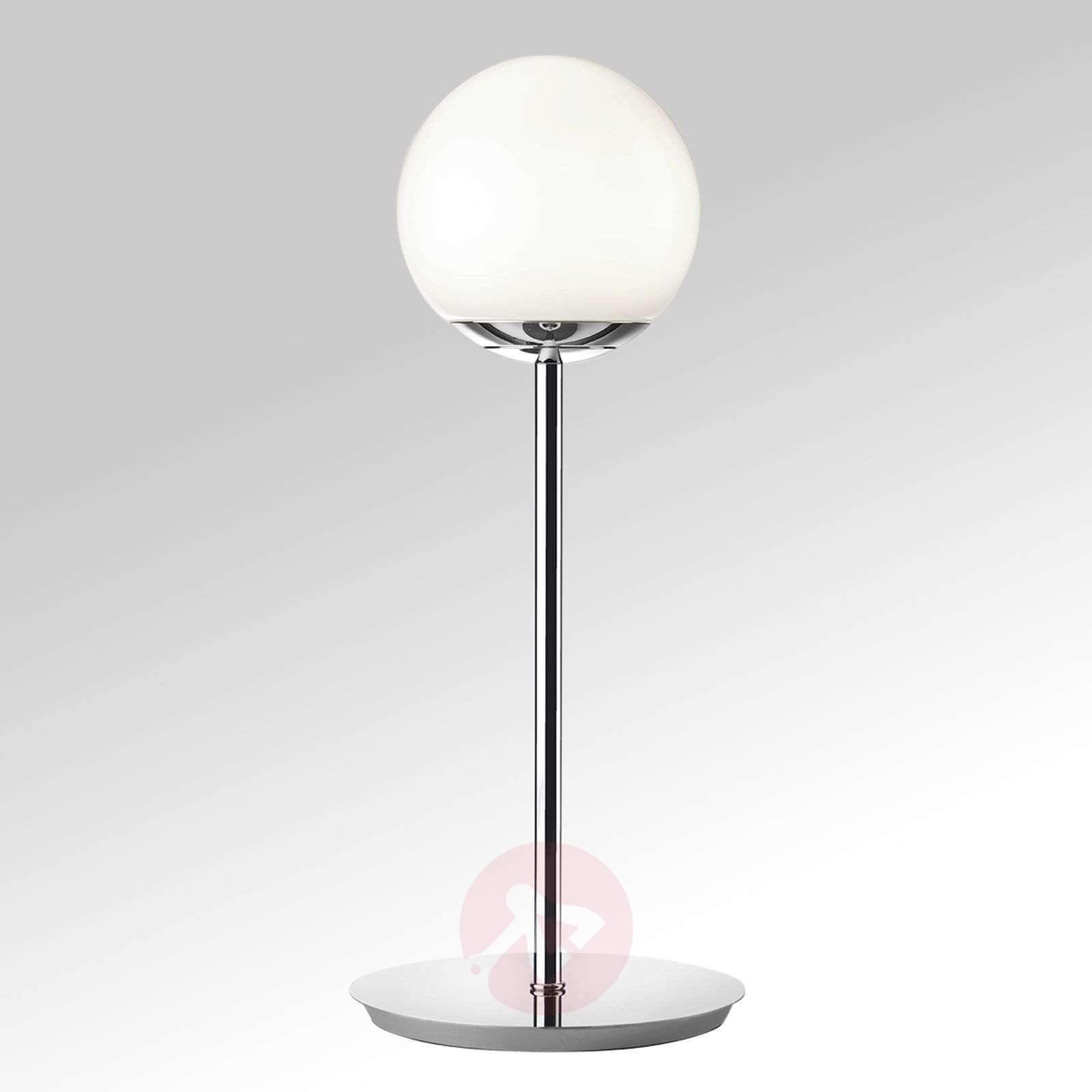 Puppi LED table lamp, spherical glass lampshade-8507634-01