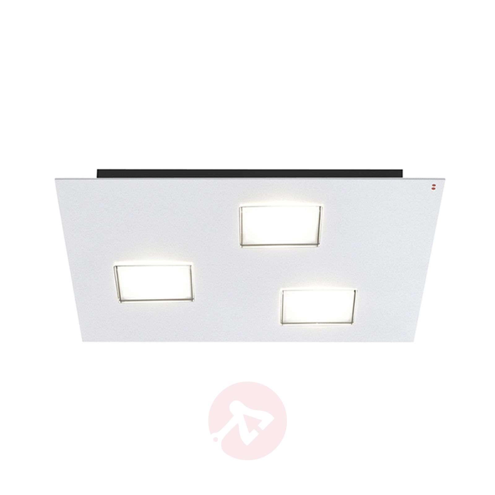 Quarter LED ceiling light in white with 3 LEDs-3503237-01