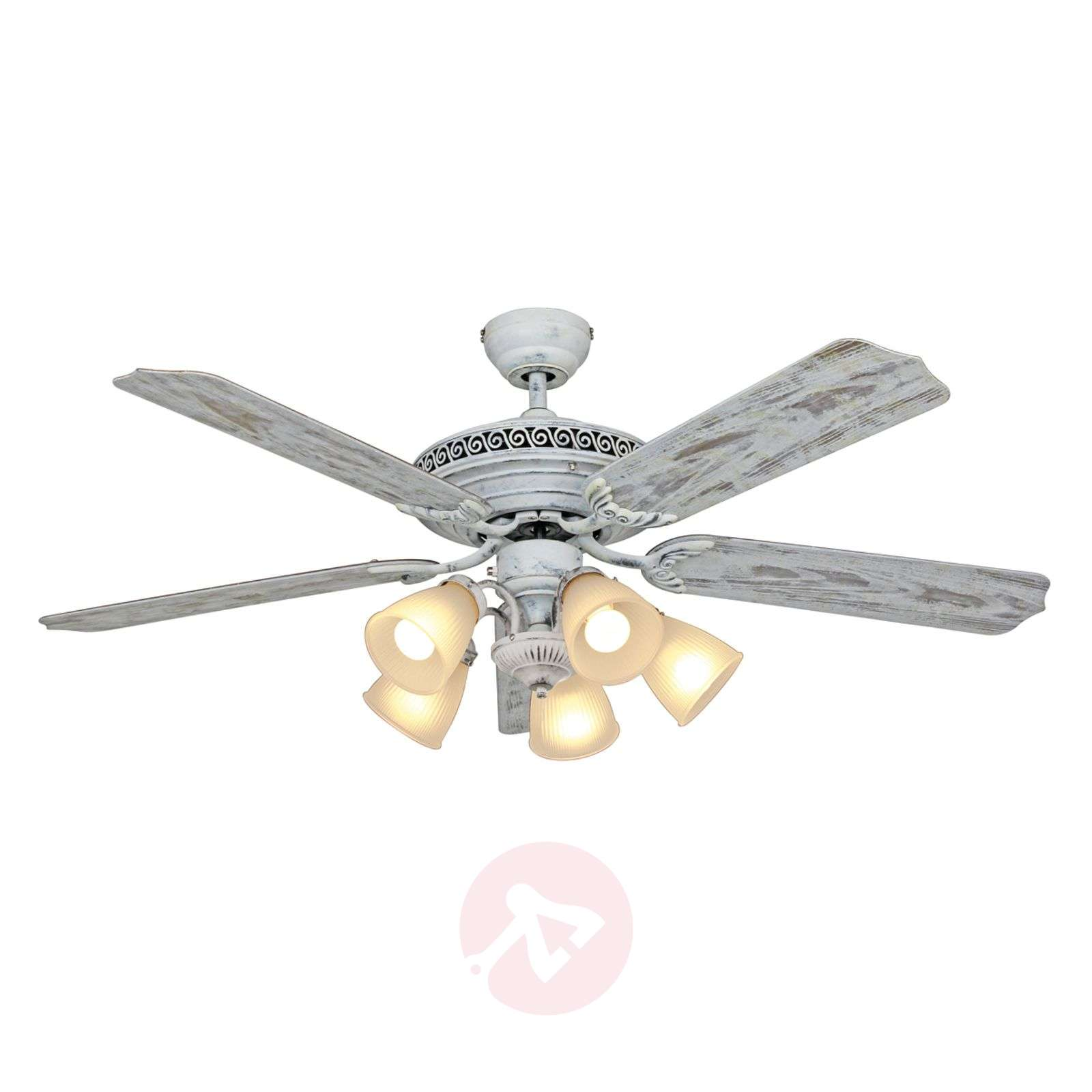 Quiet ceiling fan Centurion with a light-2015118-01