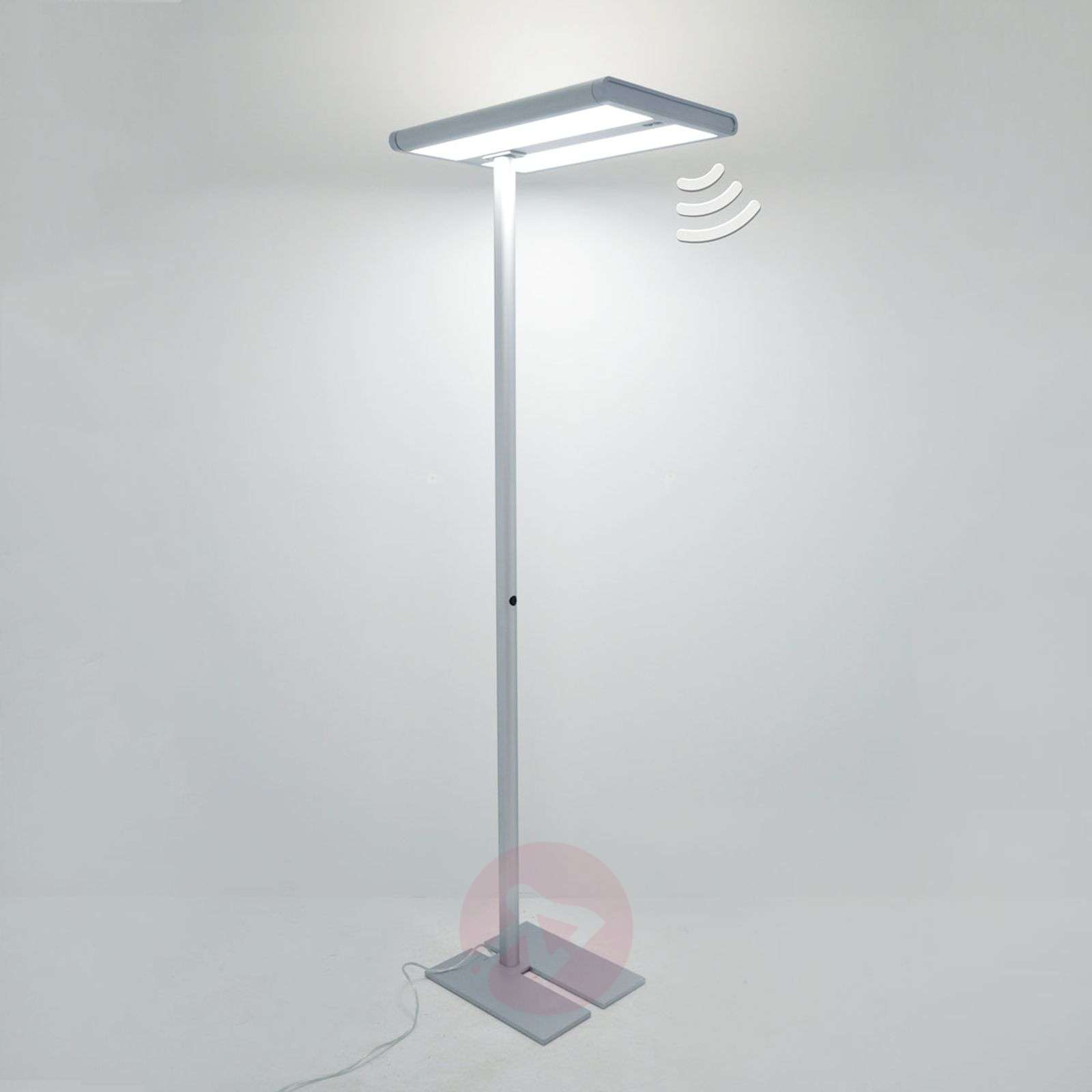 Quirin Led Office Floor Lamp With Sensor 9966001 01