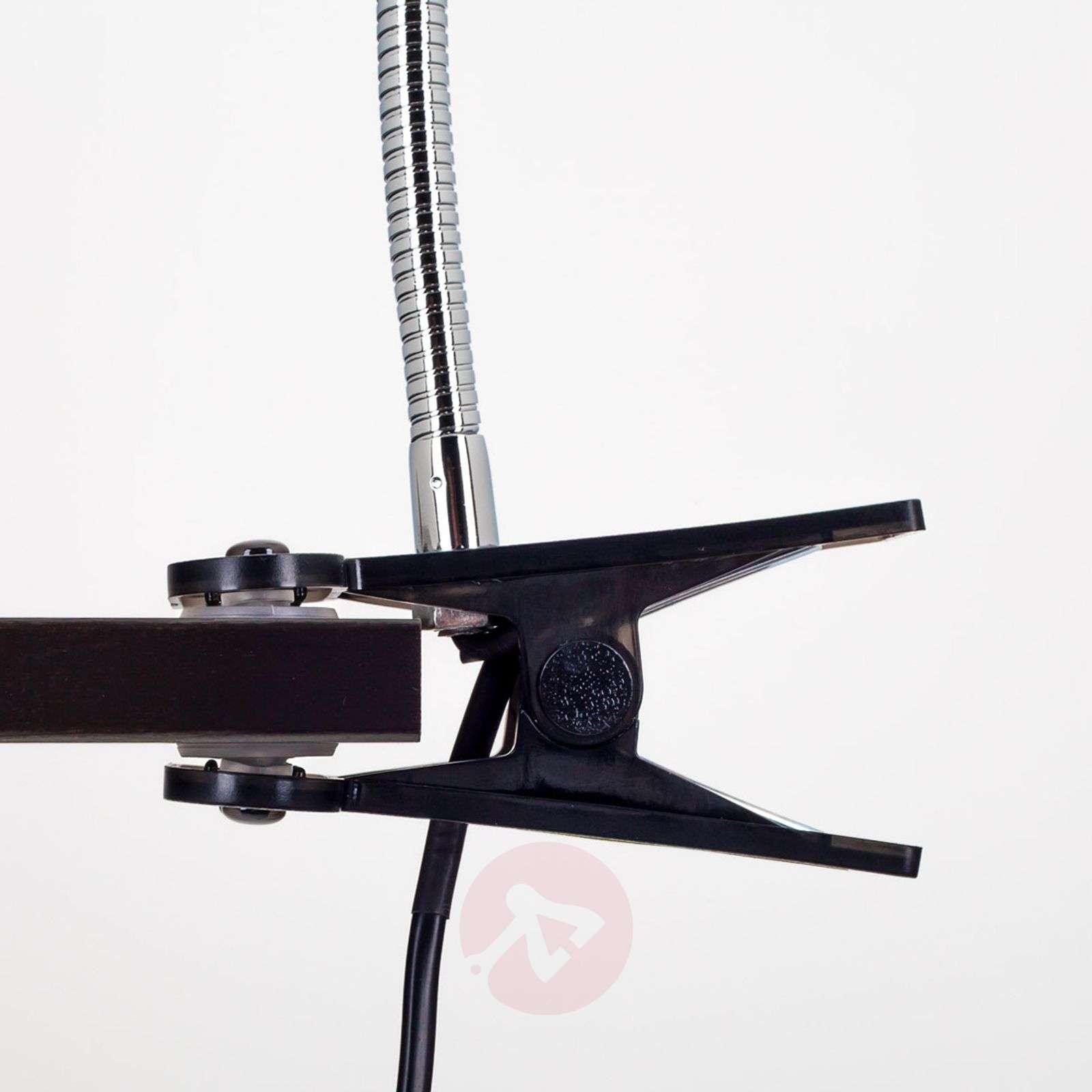 Rabea LED clip-on light in Black-9643007-01