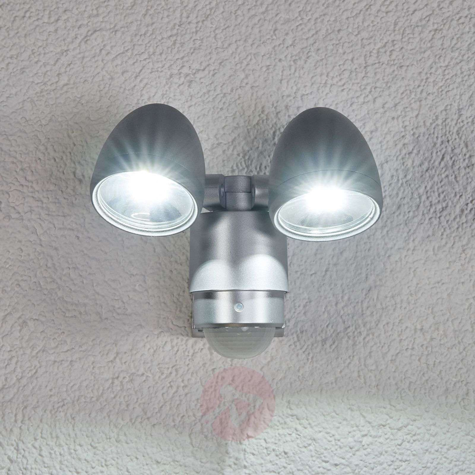 RADIAL Two Lamp LED Exterior Wall Spot-4014128-03