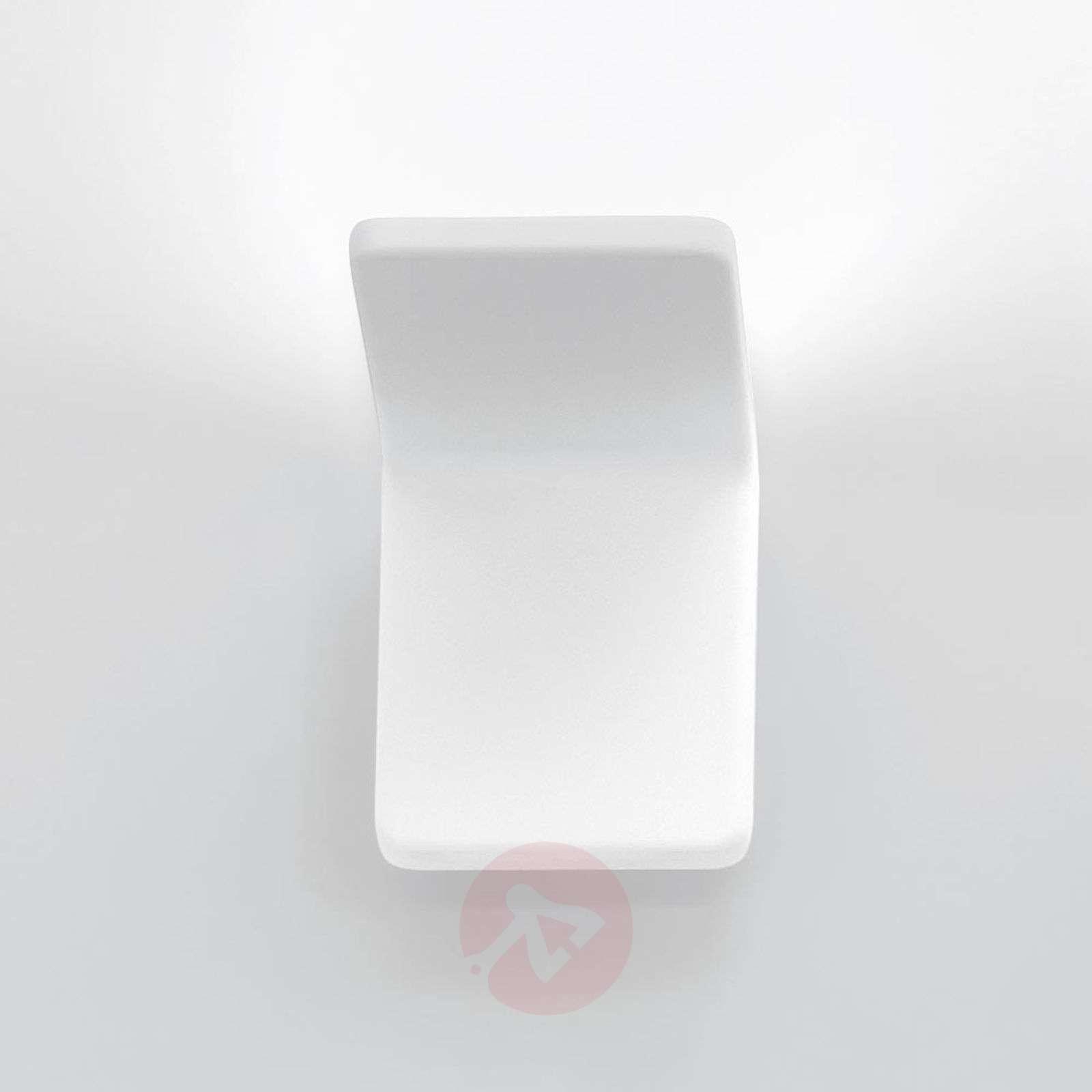 Rea 10 designer LED wall light, white-1060018-01