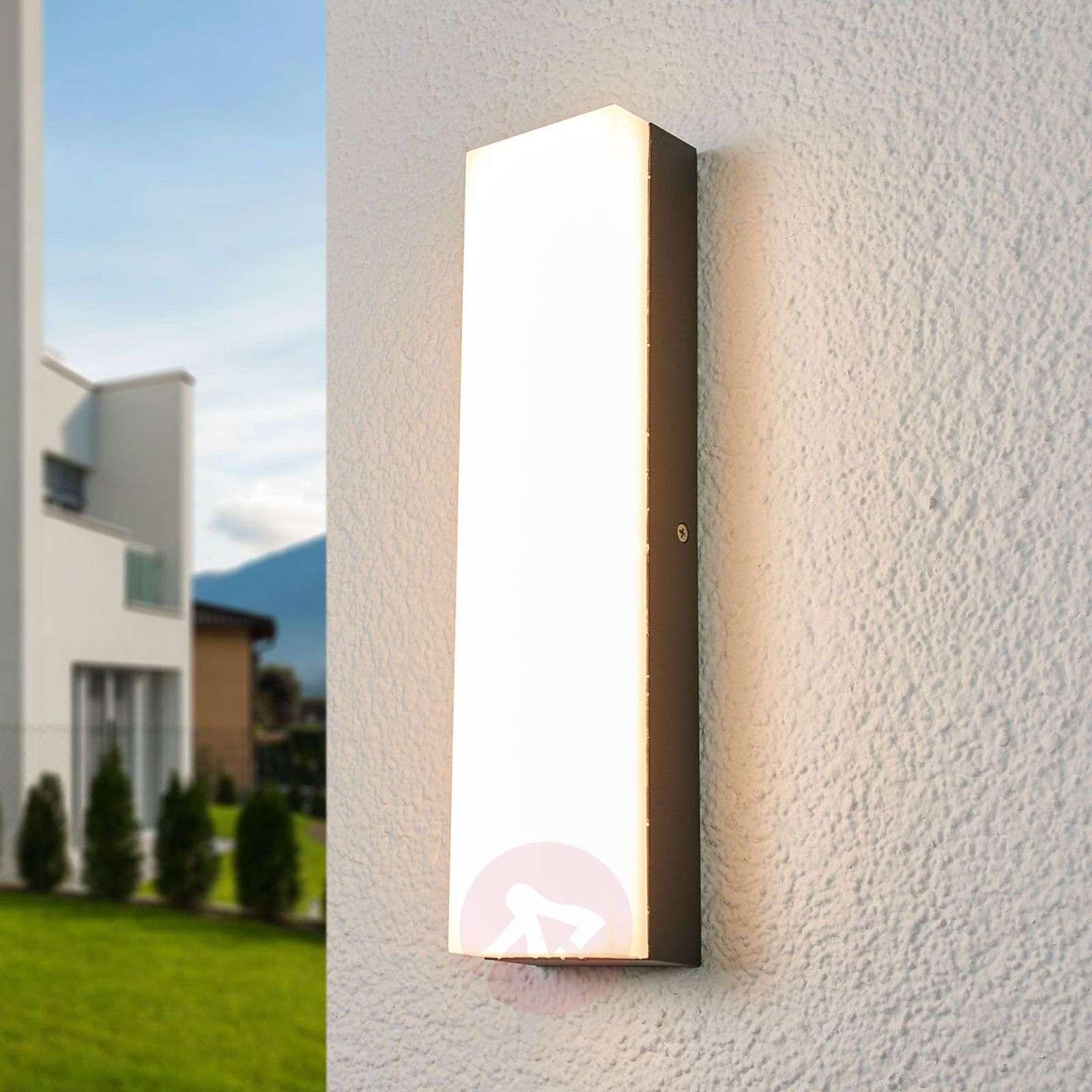 Rectangular LED outdoor wall lamp Donovan-9618094-01
