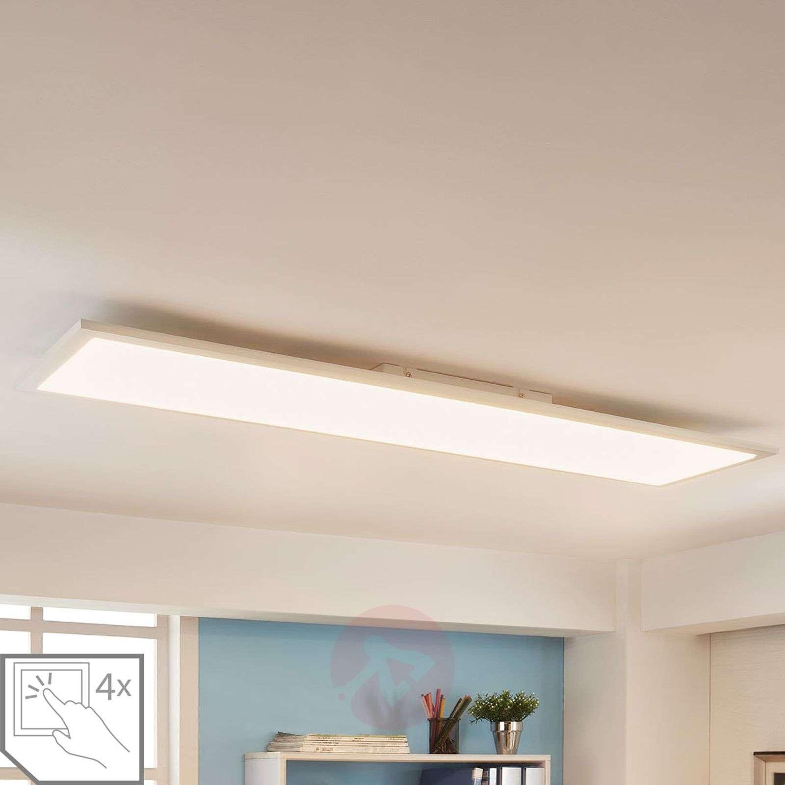Rectangular LED panel Enja, 120 x 30 cm_9621533_1