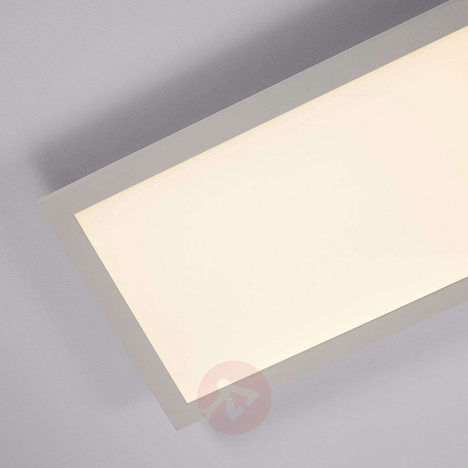 Rectangular LED panel Enja, 120 x 30 cm-9621533-011