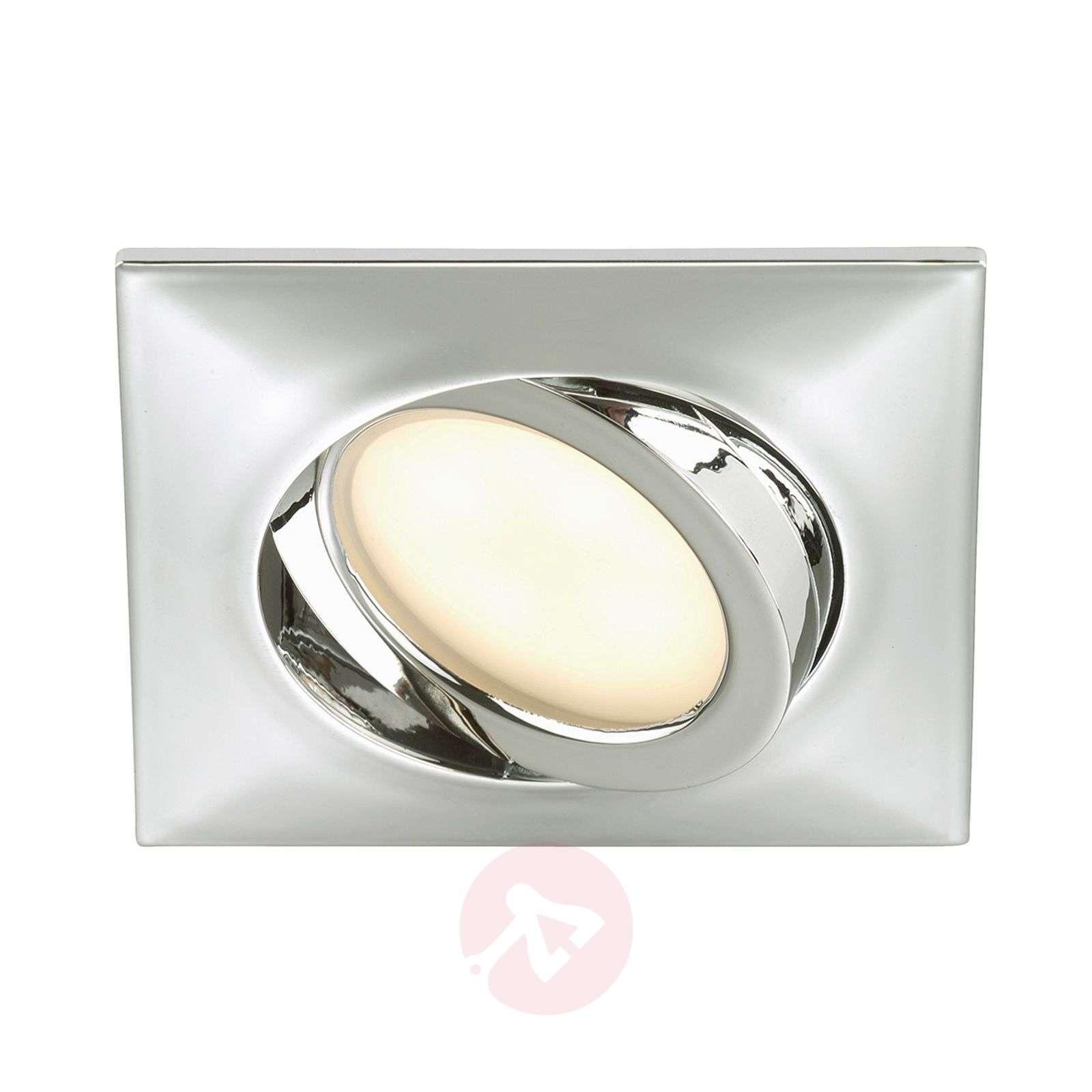Rectangular led recessed light erik chrome lights rectangular led recessed light erik chrome 1510289 01 aloadofball Gallery