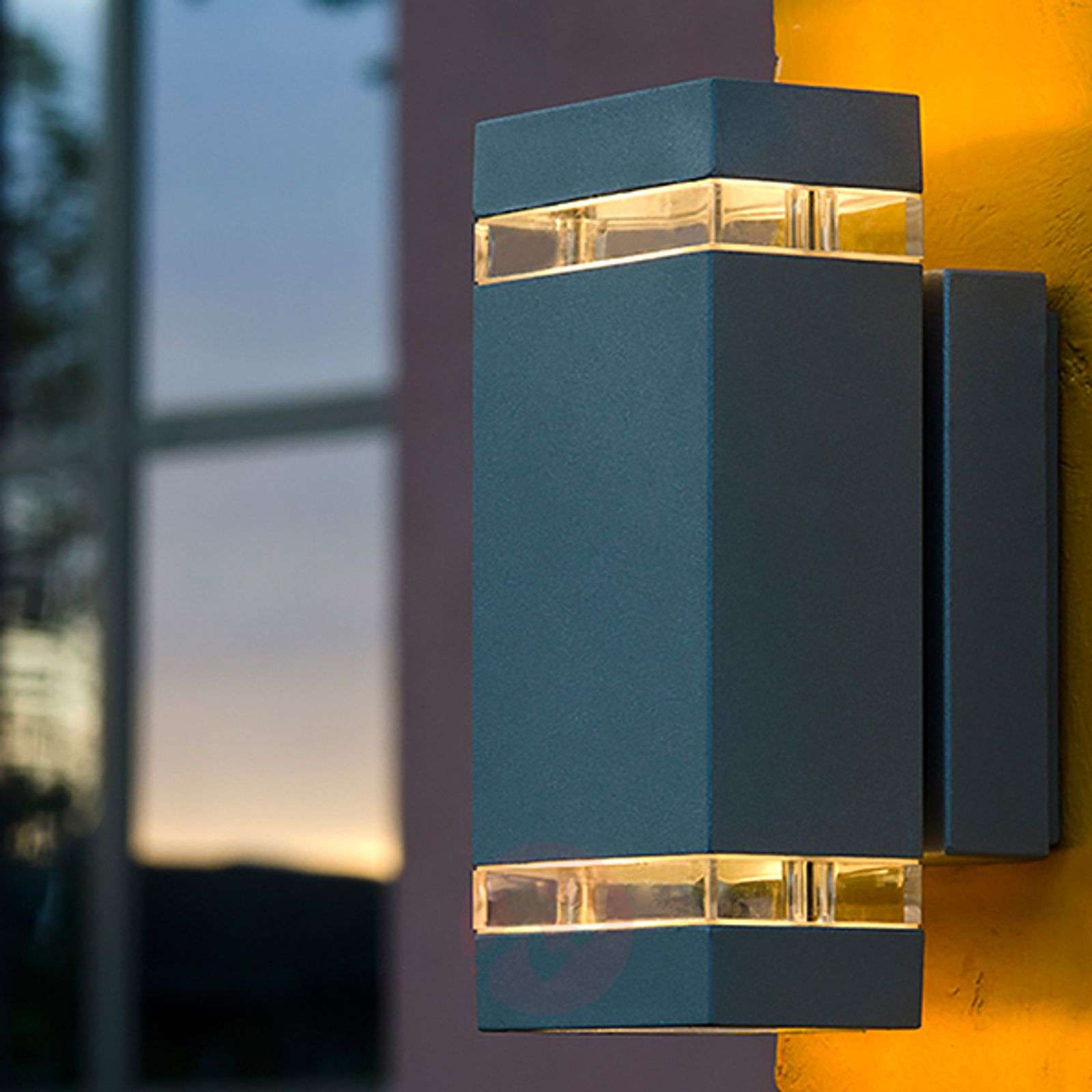 Rectangular-shaped FOCUS LED exterior wall light-3006128-02