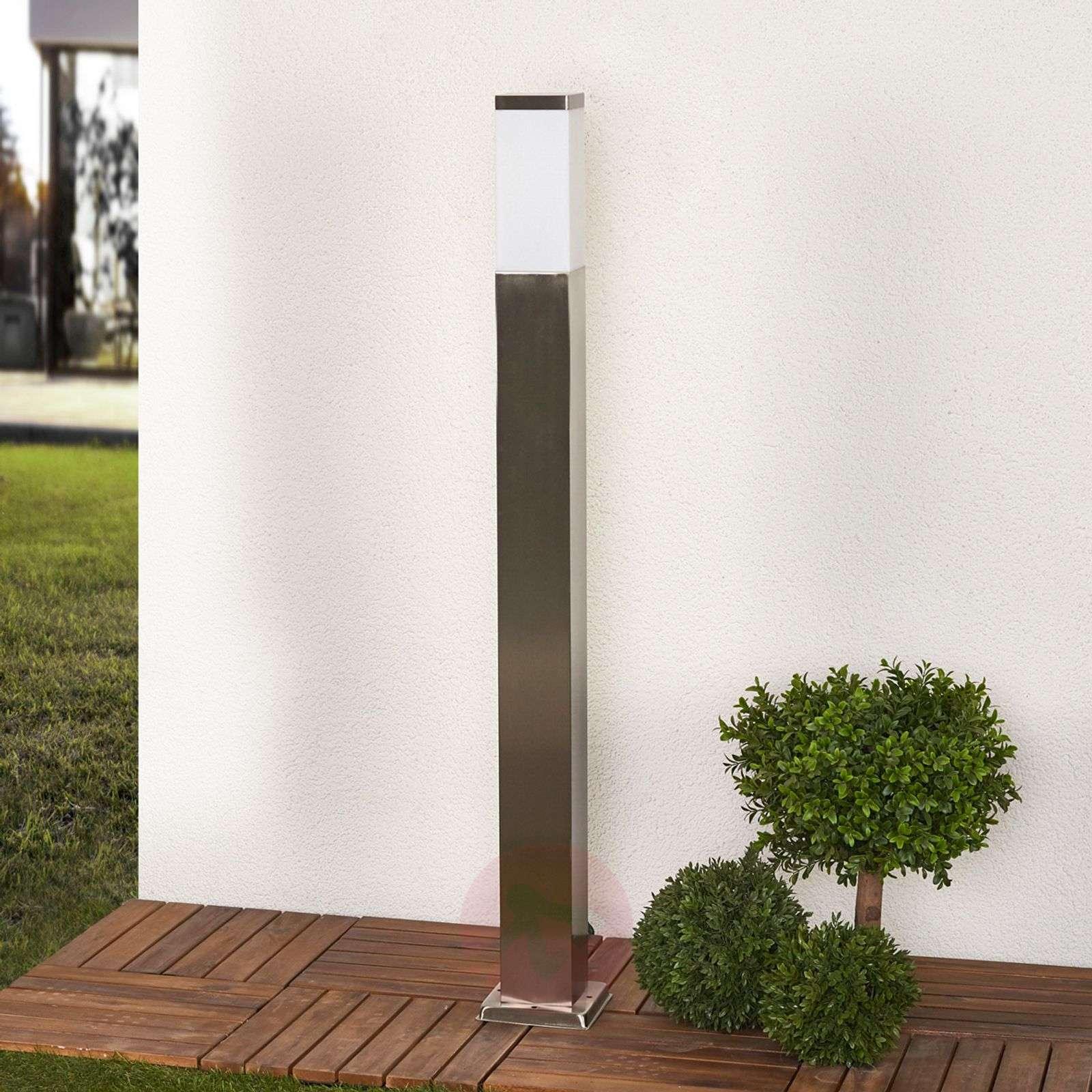 Rectangular stainless steel bollard light Lorian-9972065-03